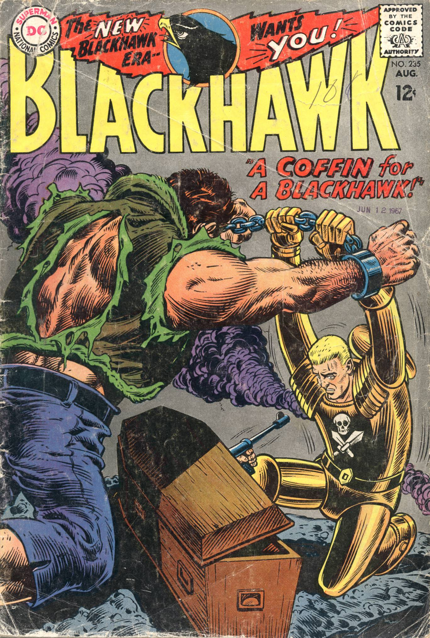 Blackhawk (1957) 235 Page 1
