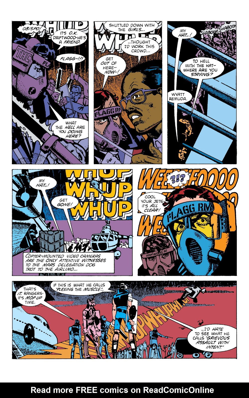 American Flagg! issue Definitive Collection (Part 2) - Page 66