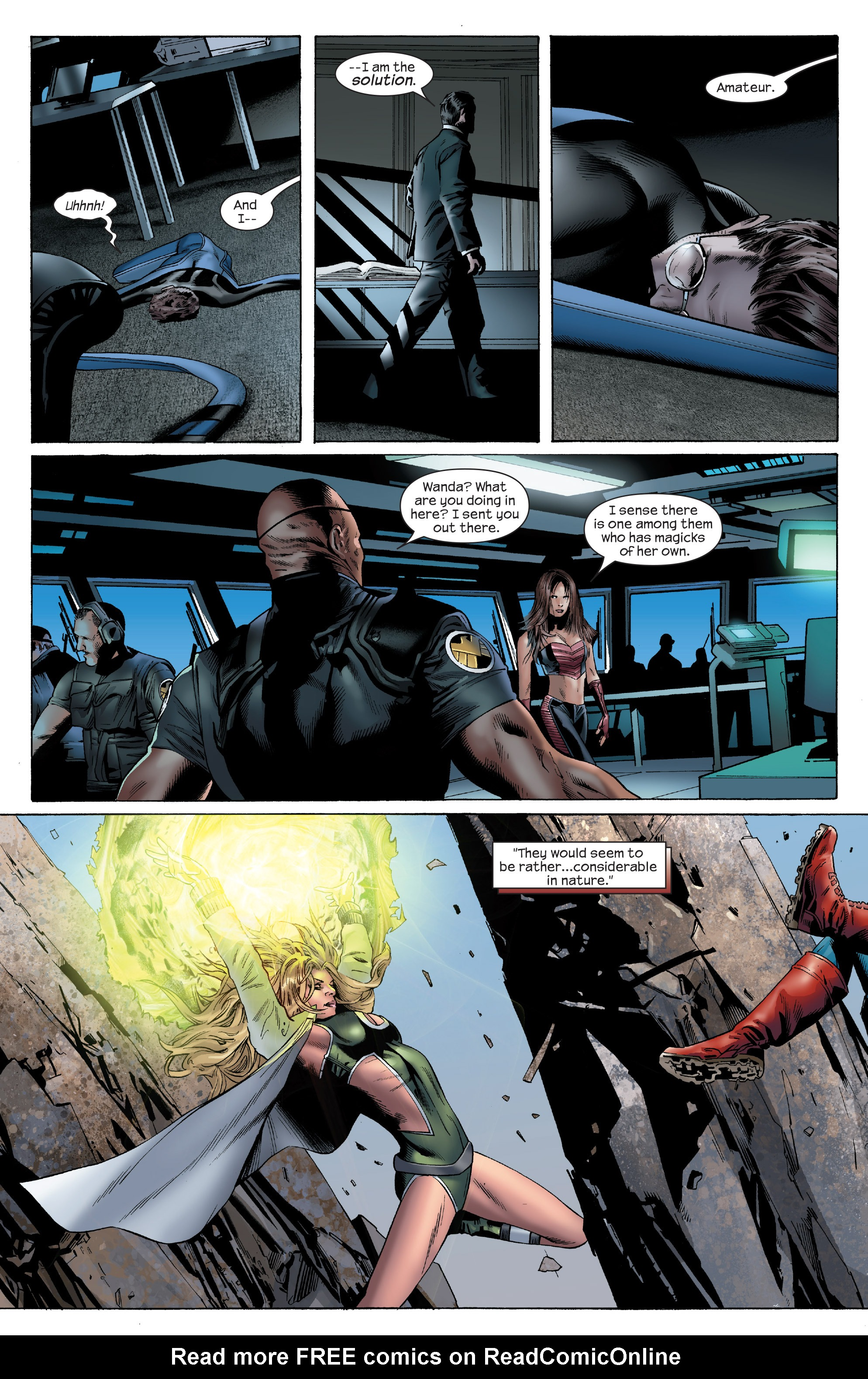 Read online Ultimate Power comic -  Issue #6 - 10