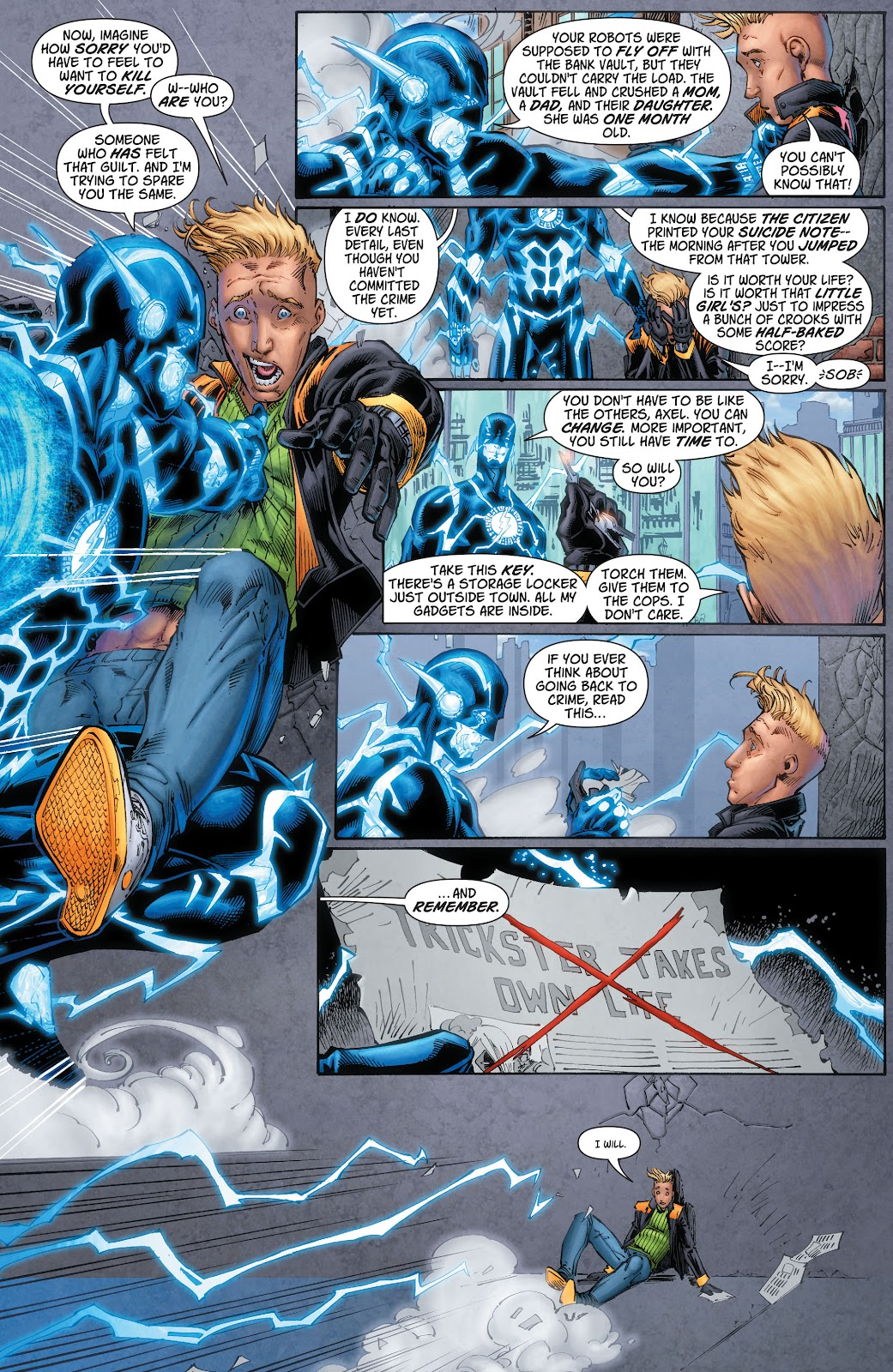 Read online The Flash (2011) comic -  Issue # _TPB 6 (Part 2) - 15