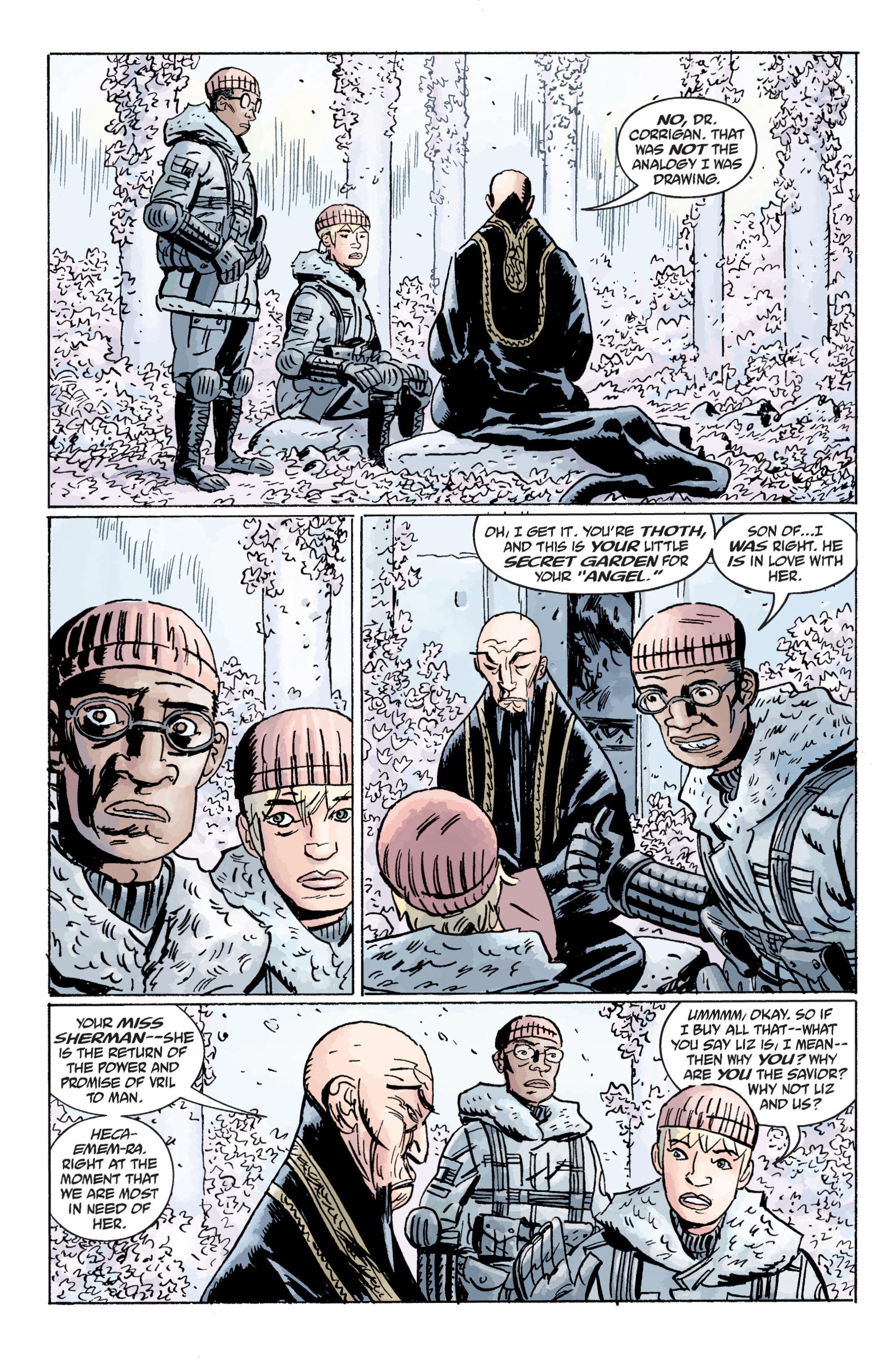 Read online B.P.R.D. (2003) comic -  Issue # TPB 11 - 98