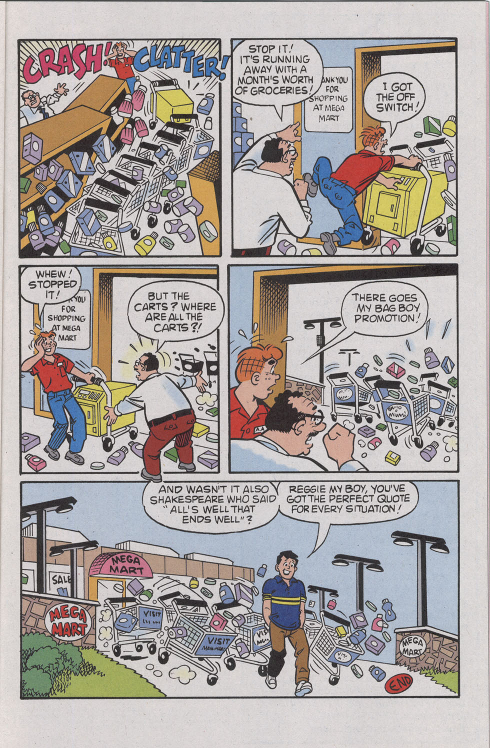 Read online Archie (1960) comic -  Issue #539 - 17