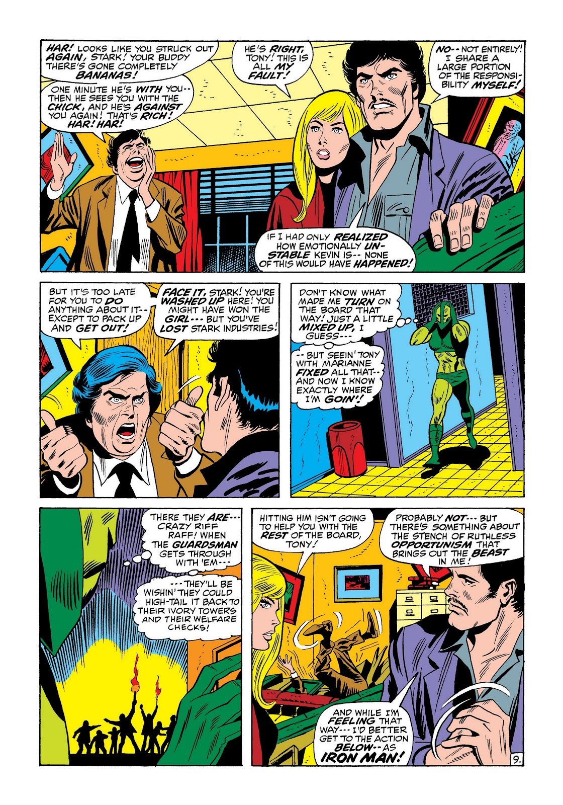 Read online Marvel Masterworks: The Invincible Iron Man comic -  Issue # TPB 8 (Part 2) - 53