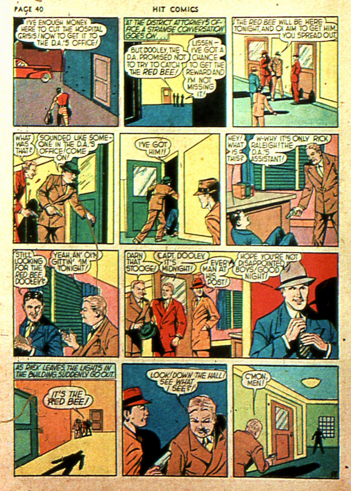 Read online Hit Comics comic -  Issue #2 - 42