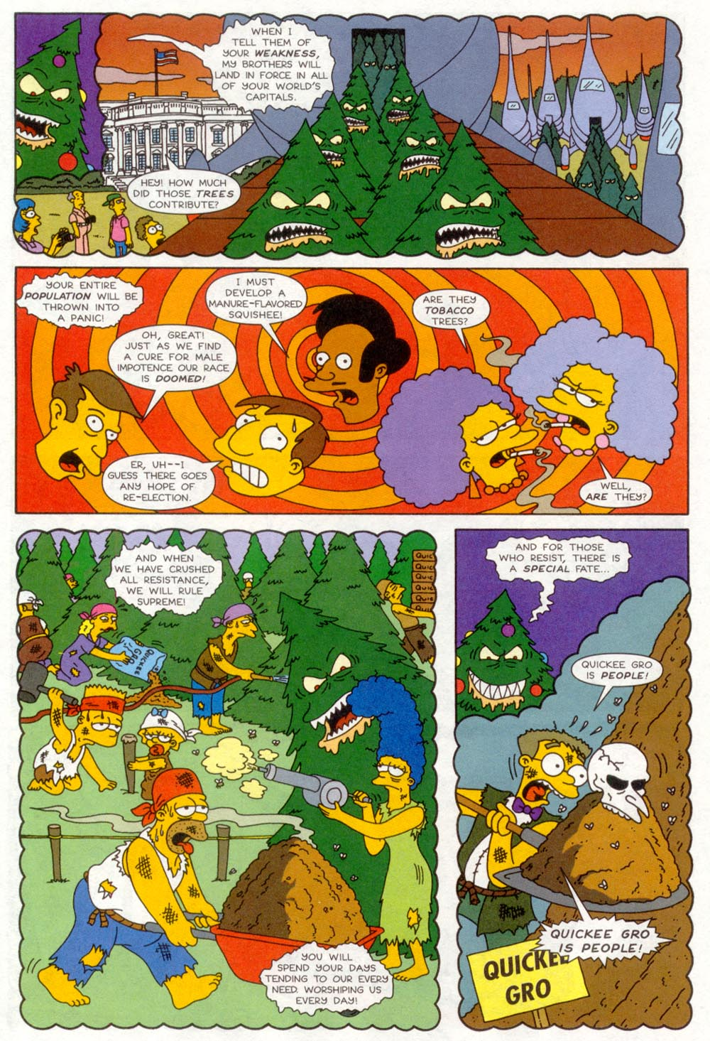 Read online Treehouse of Horror comic -  Issue #4 - 9