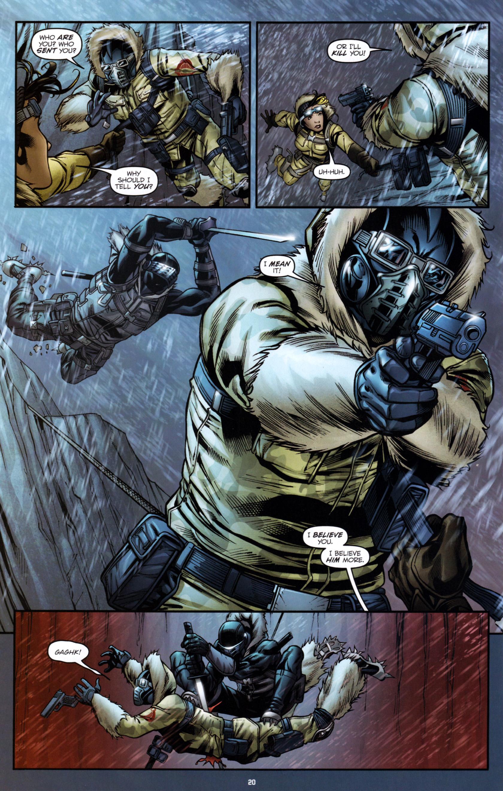 Read online G.I. Joe: Snake Eyes comic -  Issue #1 - 25