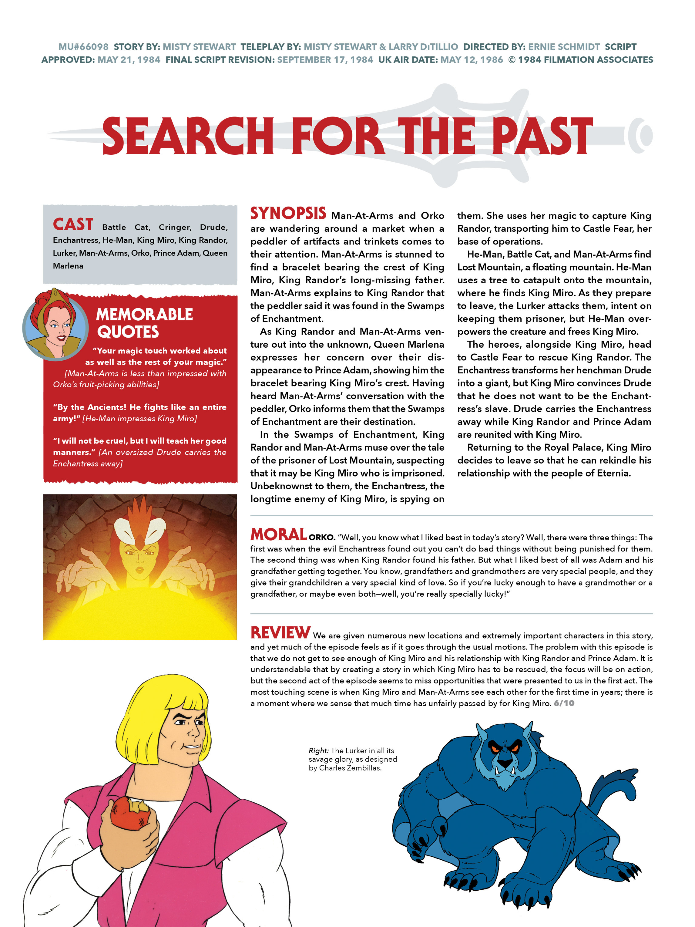 Read online He-Man and She-Ra: A Complete Guide to the Classic Animated Adventures comic -  Issue # TPB (Part 2) - 73