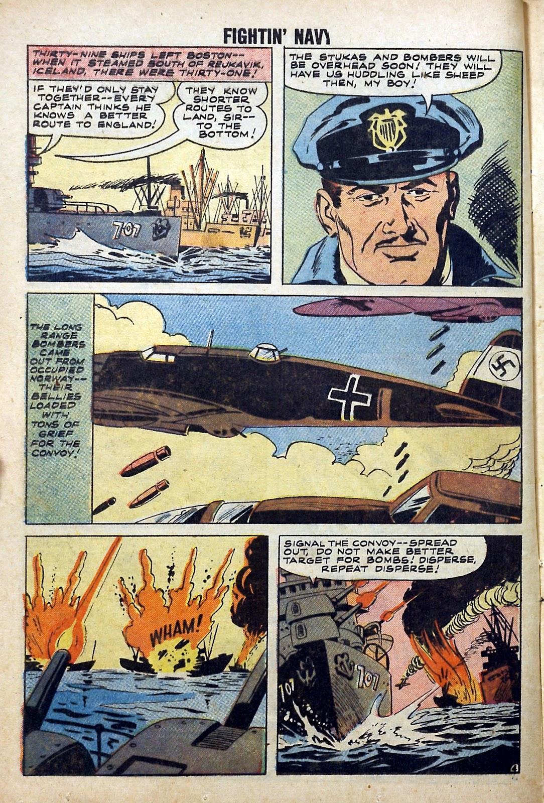Read online Fightin' Navy comic -  Issue #84 - 12