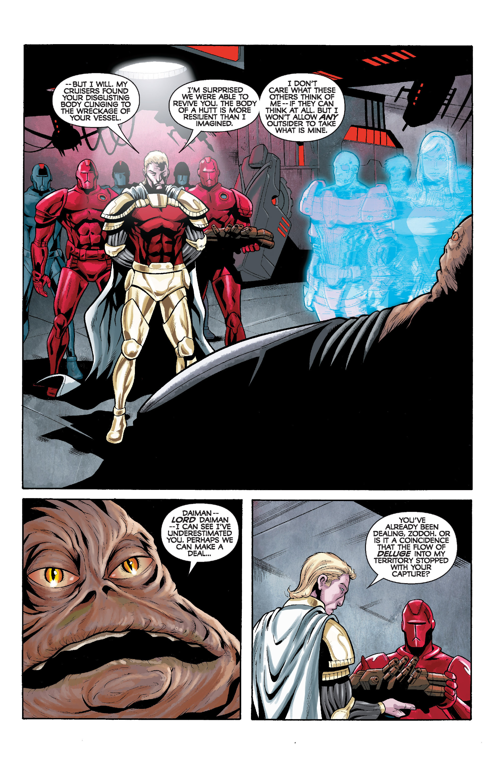 Read online Star Wars: Knight Errant - Deluge comic -  Issue #5 - 20
