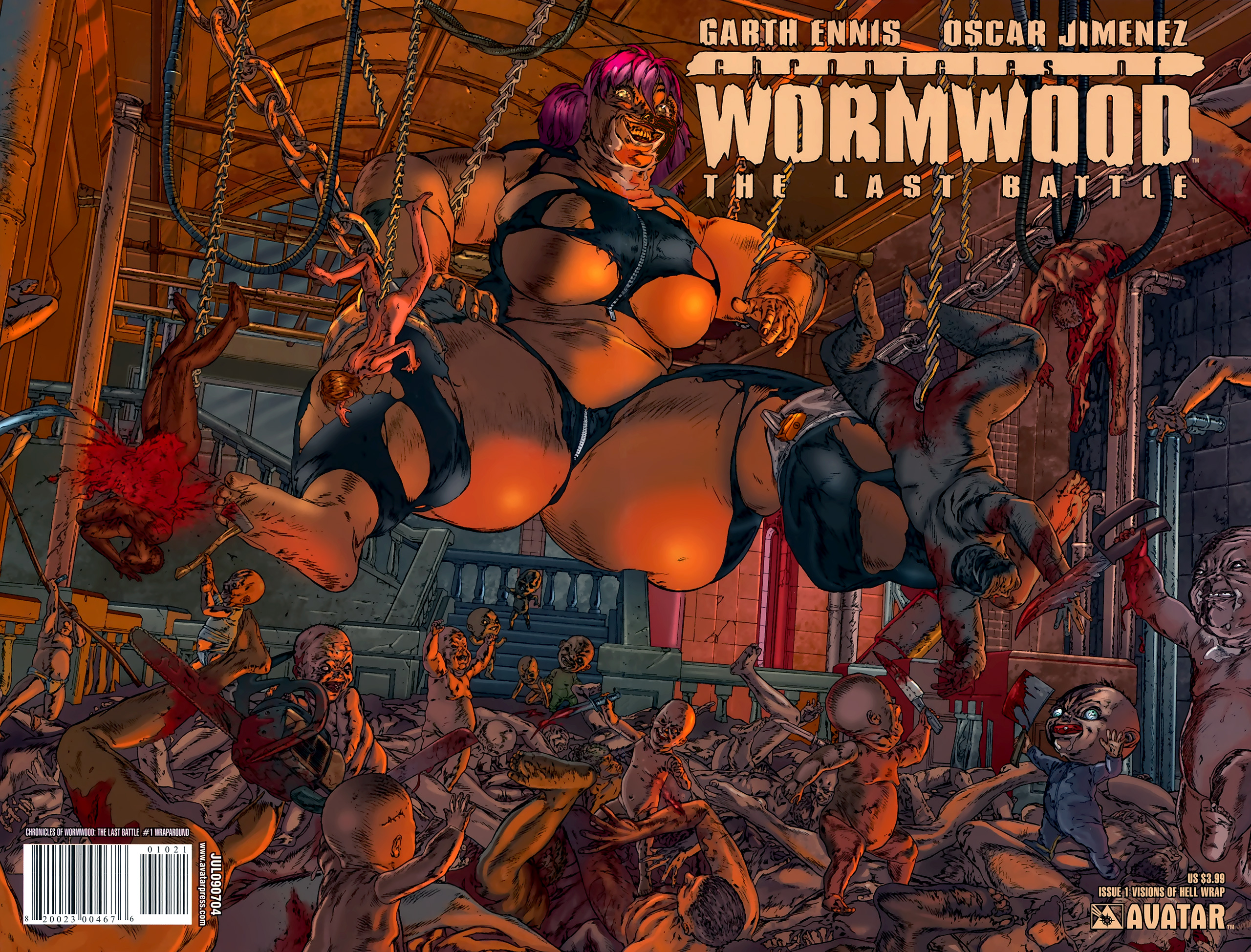 Read online Chronicles of Wormwood: The Last Battle comic -  Issue #1 - 2