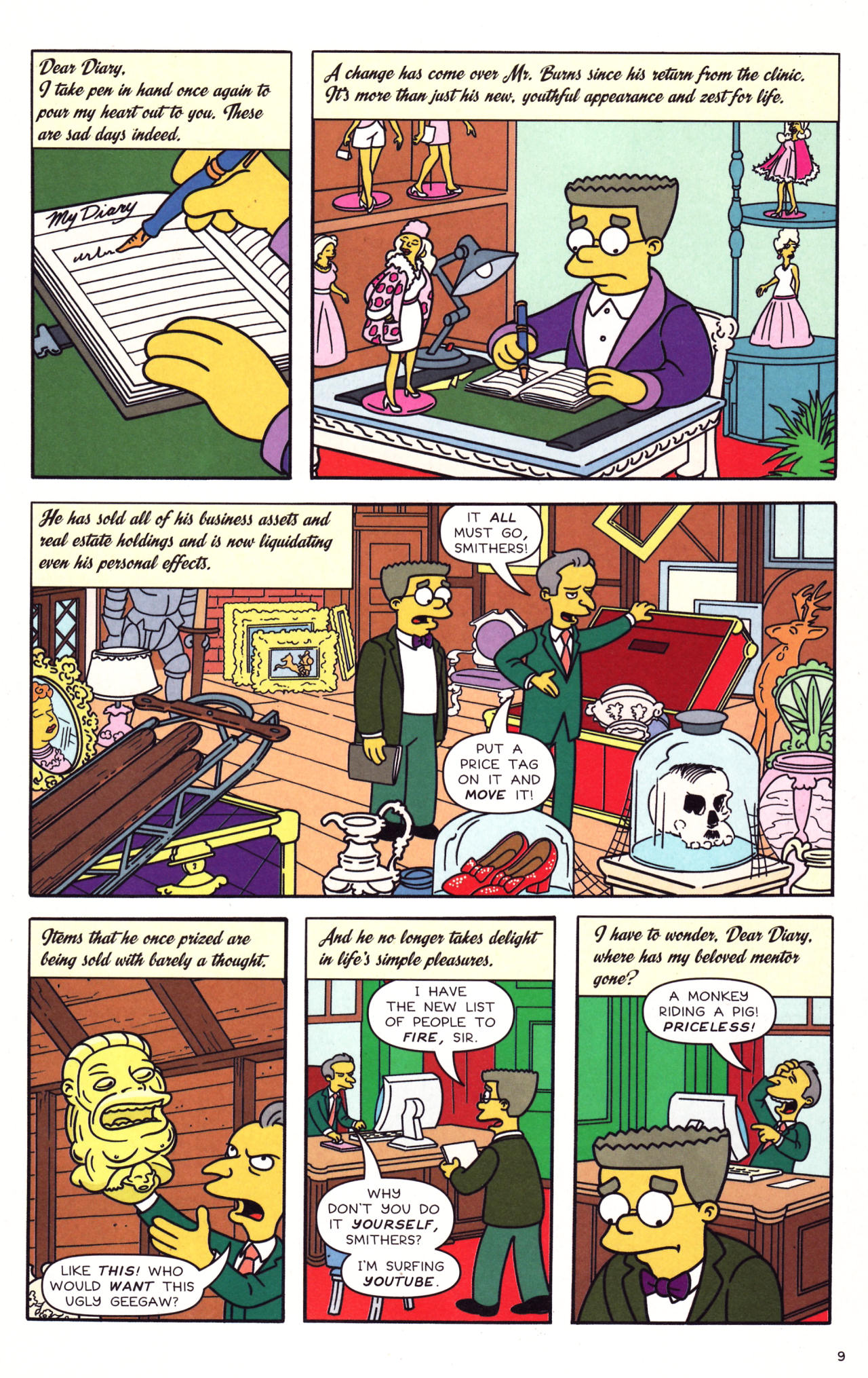 Read online Simpsons Comics comic -  Issue #133 - 8