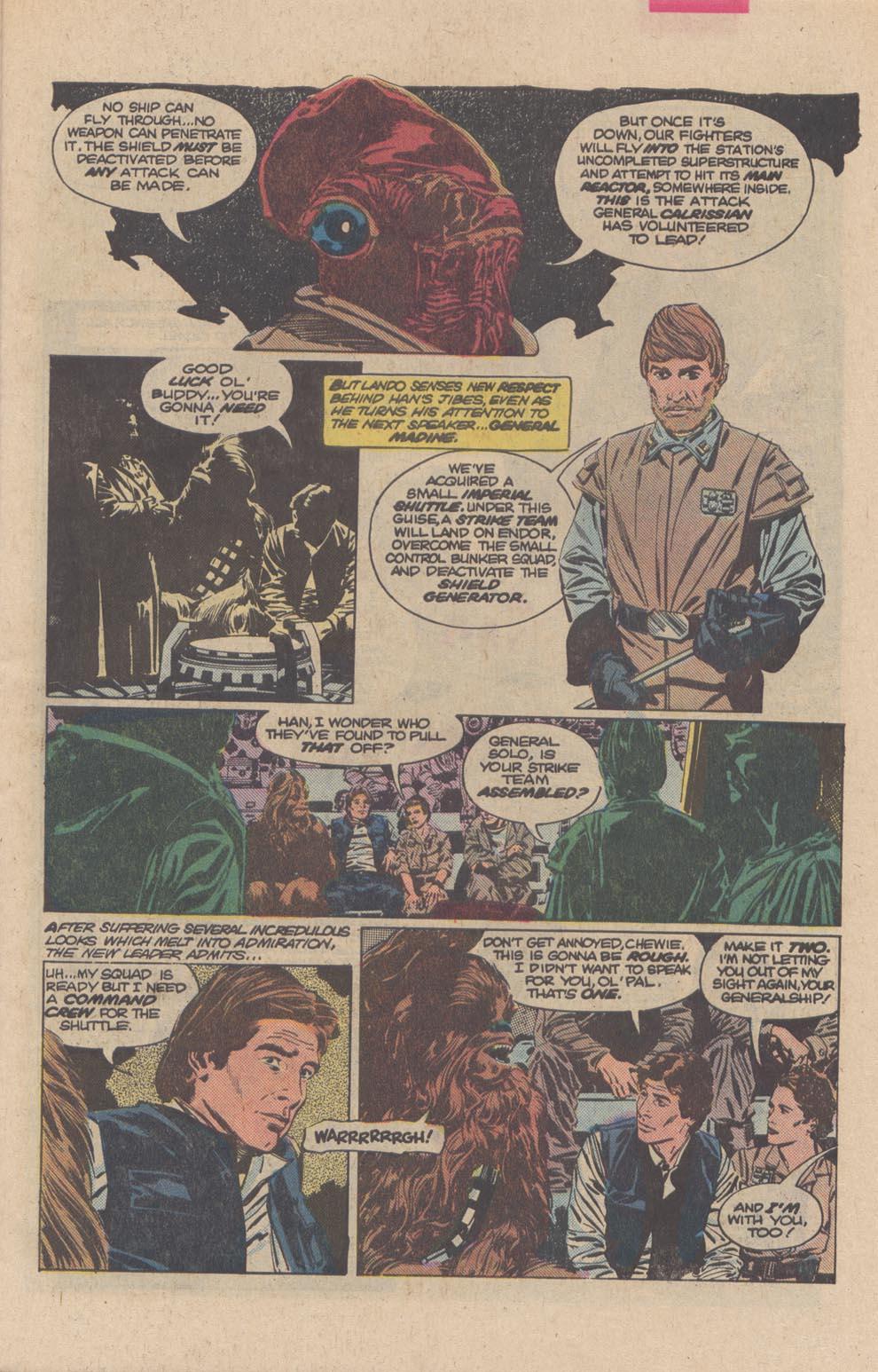 Read online Star Wars: Return of the Jedi comic -  Issue #3 - 6