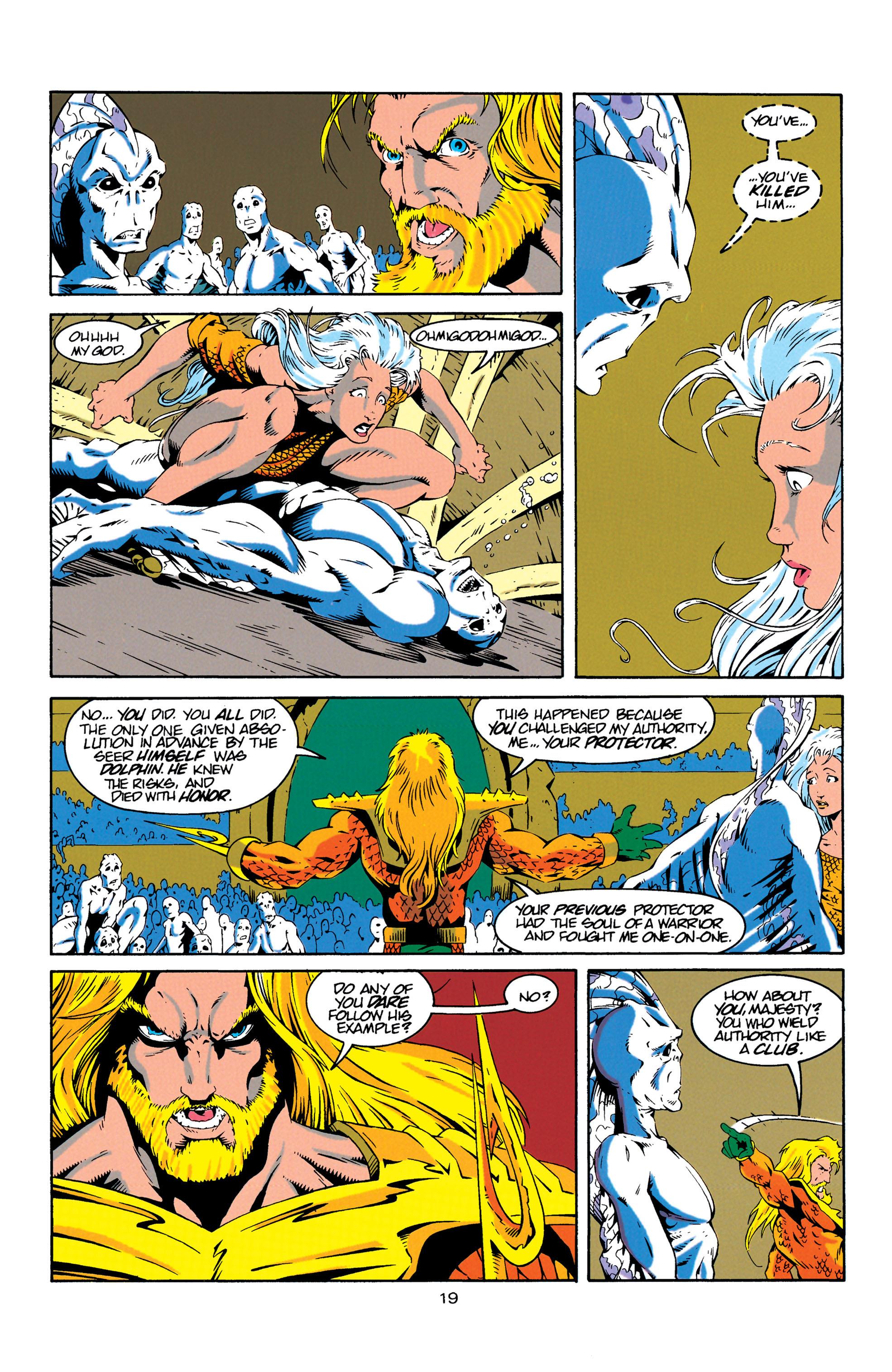 Read online Aquaman (1994) comic -  Issue #18 - 19