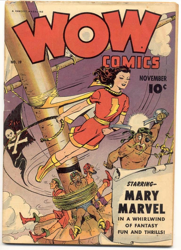 Wow Comics 19 Page 1