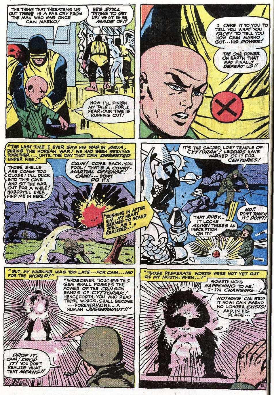 Read online Uncanny X-Men (1963) comic -  Issue #67 - 20
