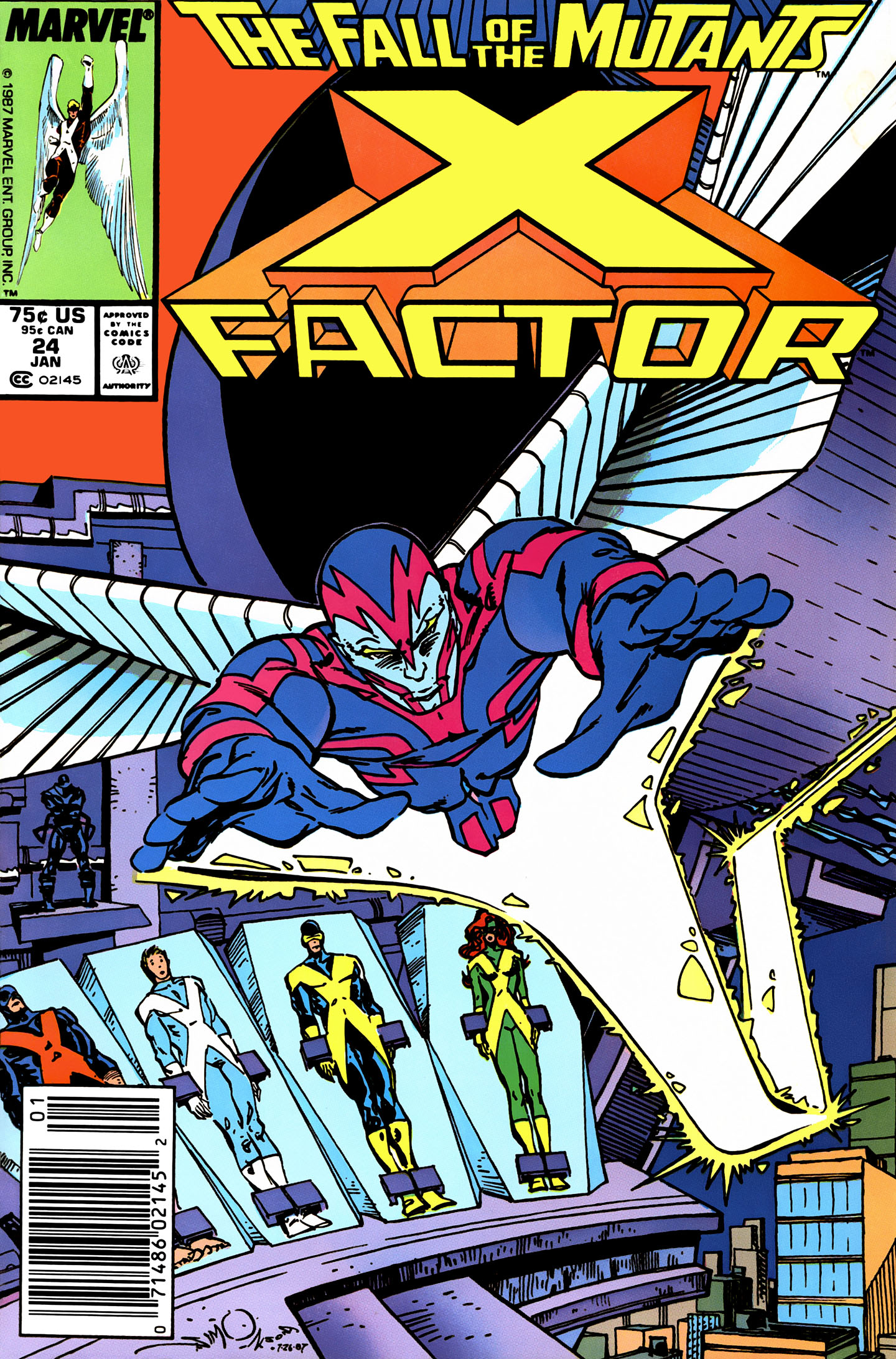 Read online X-Factor (1986) comic -  Issue #24 - 1