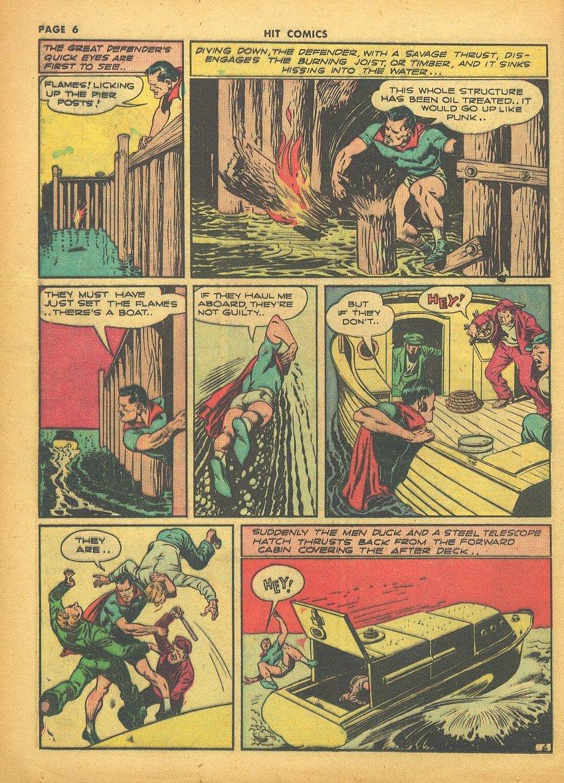 Read online Hit Comics comic -  Issue #24 - 8
