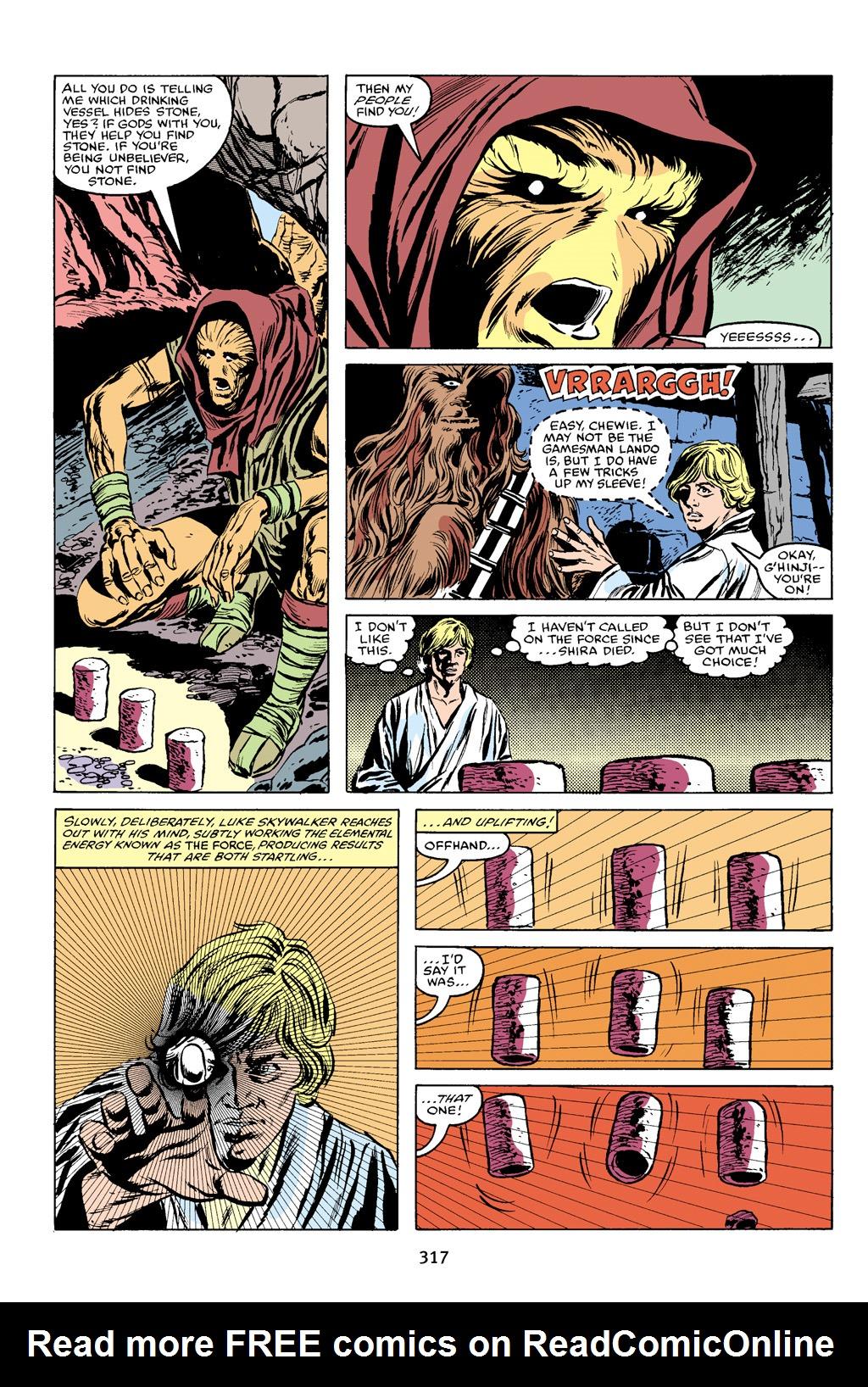 Read online Star Wars Omnibus comic -  Issue # Vol. 16 - 312