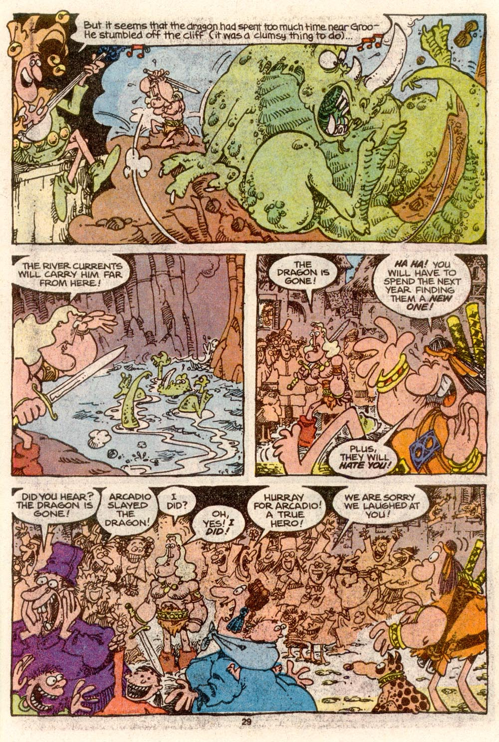 Read online Sergio Aragonés Groo the Wanderer comic -  Issue #68 - 23