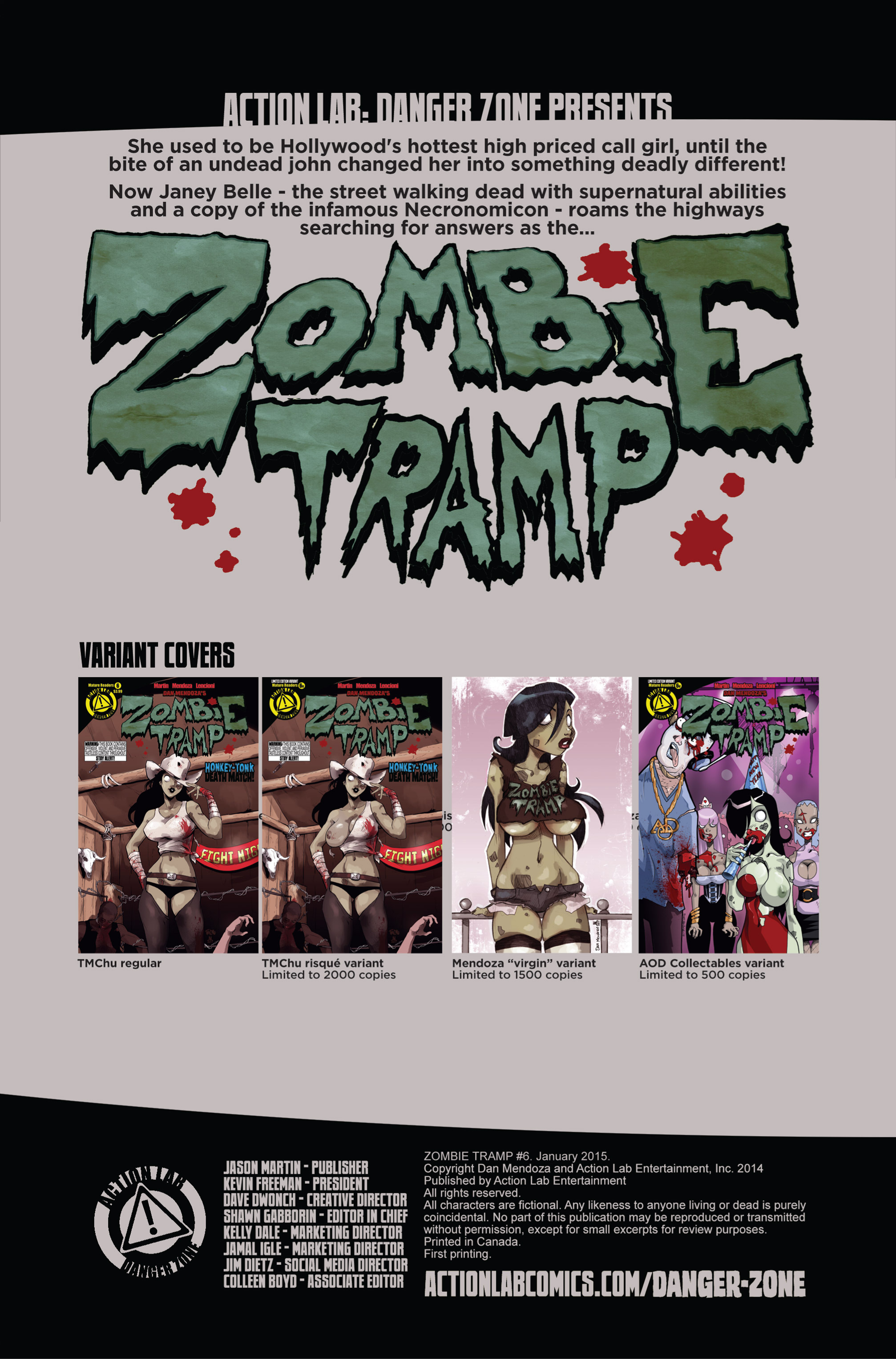 Zombie Tramp (2014) 6 Page 2