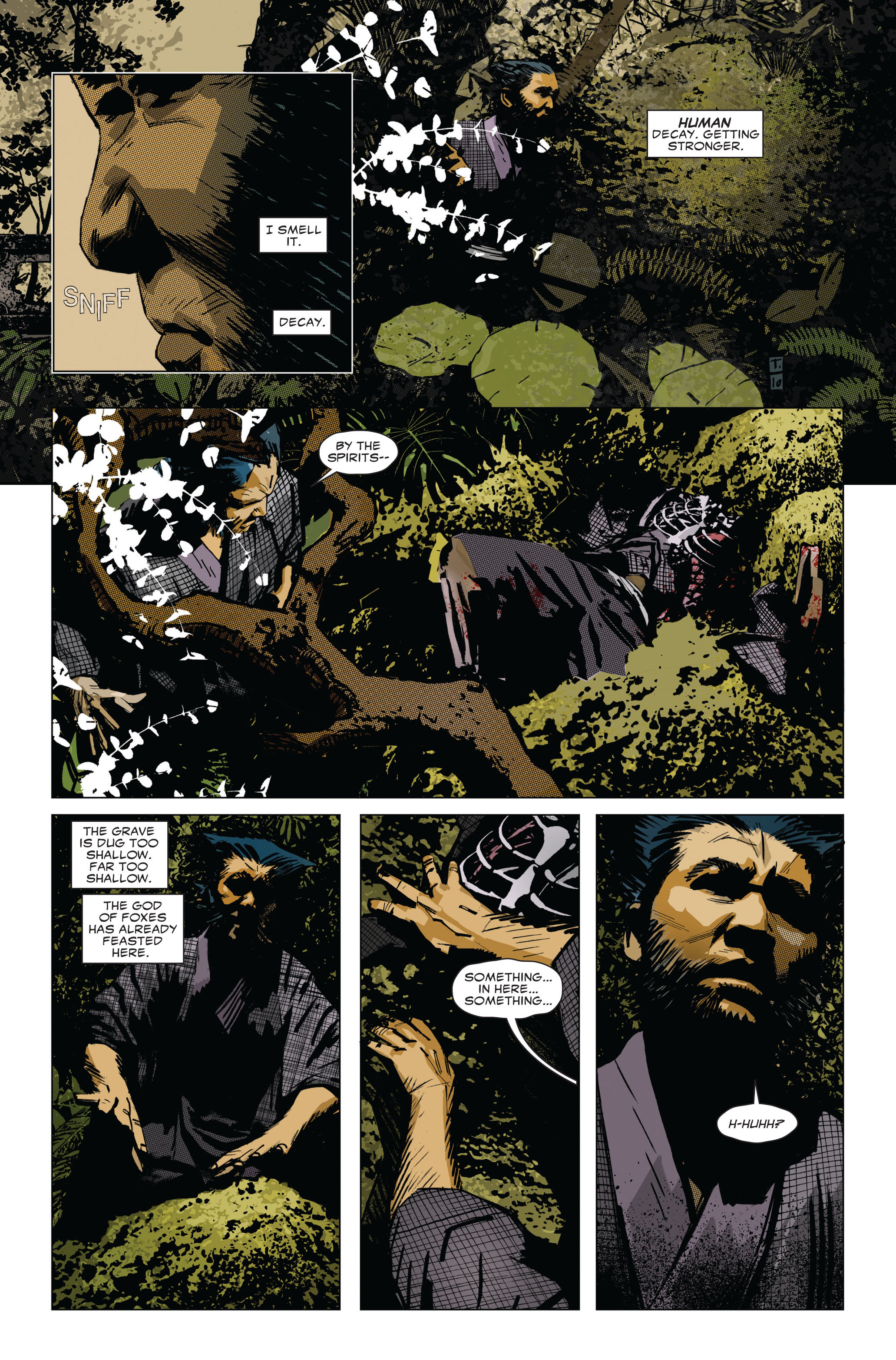 Read online 5 Ronin (2011) comic -  Issue #1 - 16
