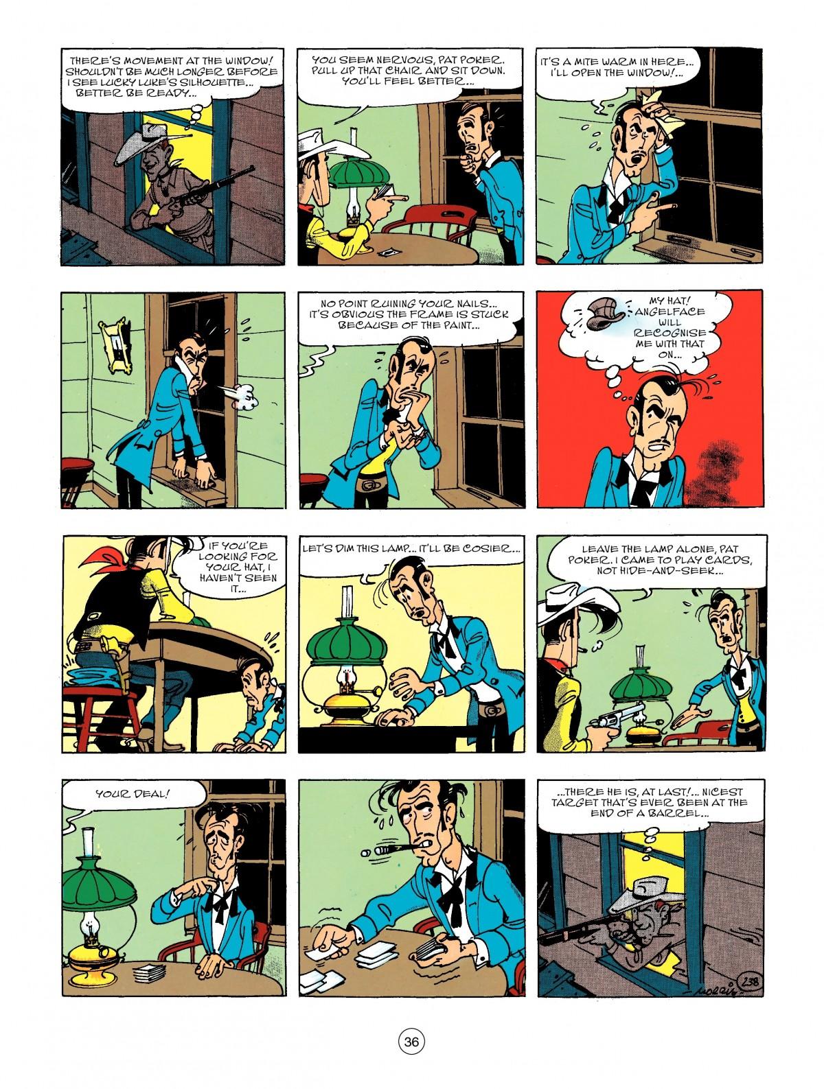 Read online A Lucky Luke Adventure comic -  Issue #44 - 36