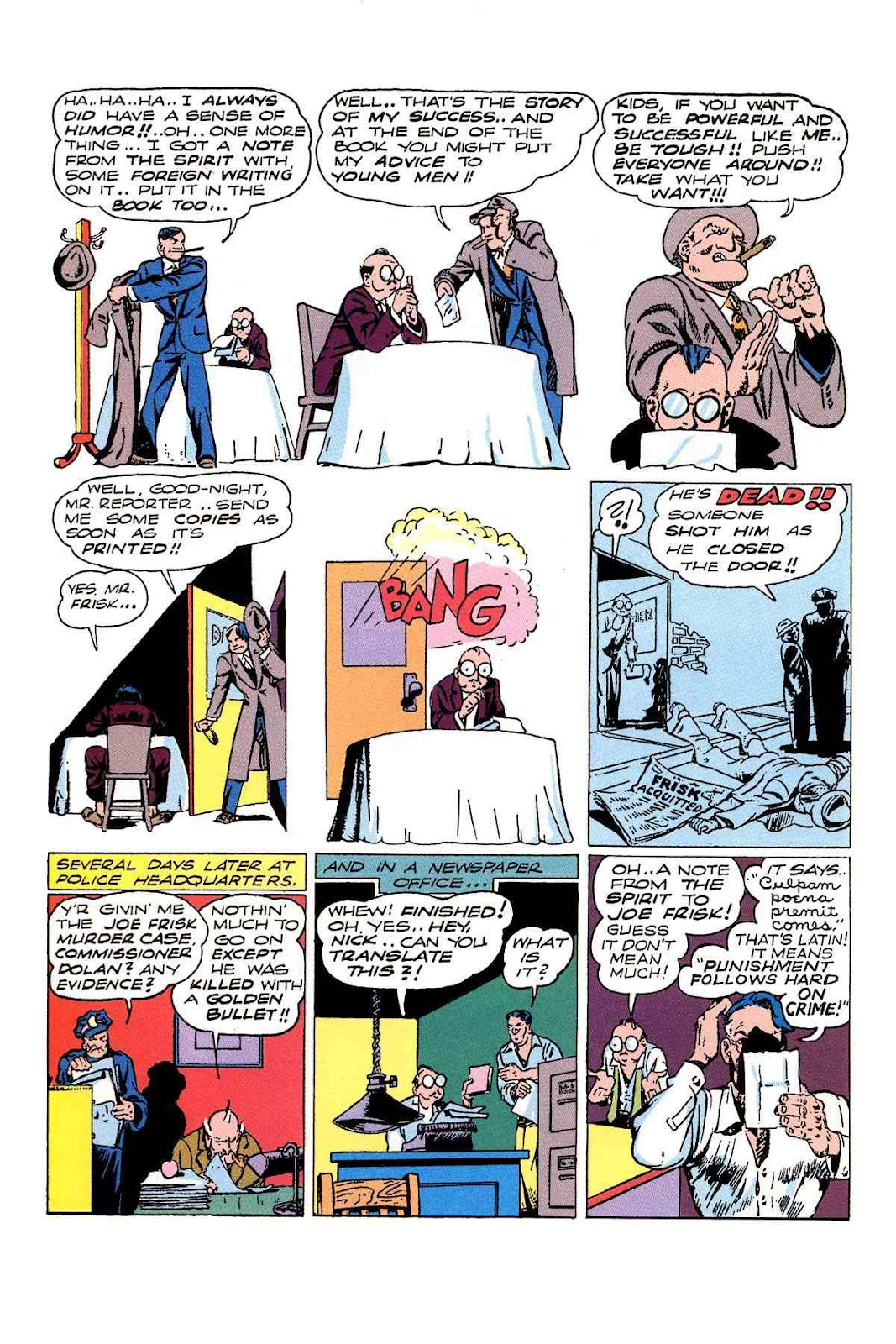 Read online Will Eisner's The Spirit Archives comic -  Issue # TPB 3 (Part 1) - 89