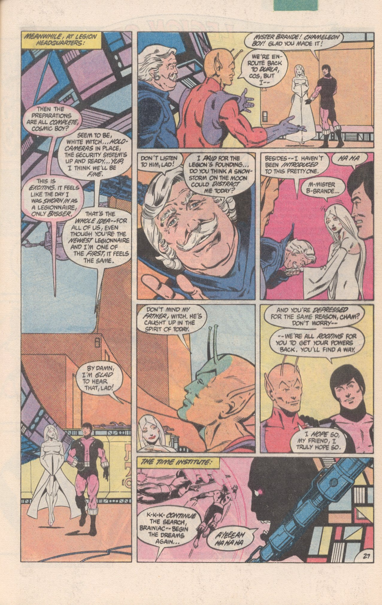 Legion of Super-Heroes (1980) 300 Page 27