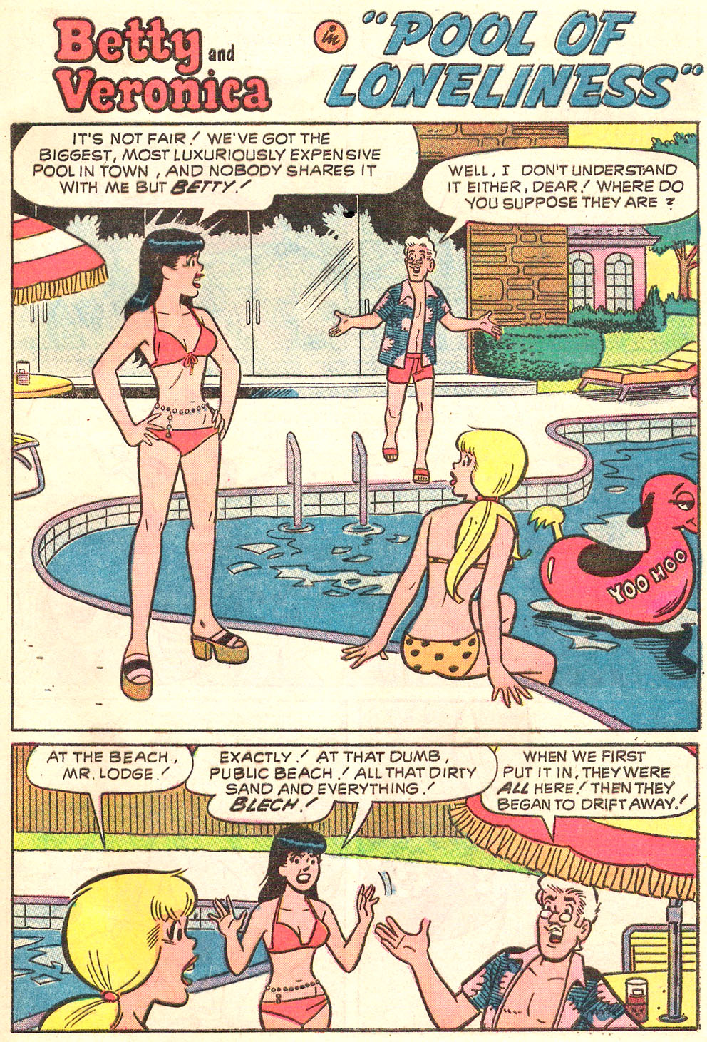 Read online Archie's Girls Betty and Veronica comic -  Issue #214 - 28