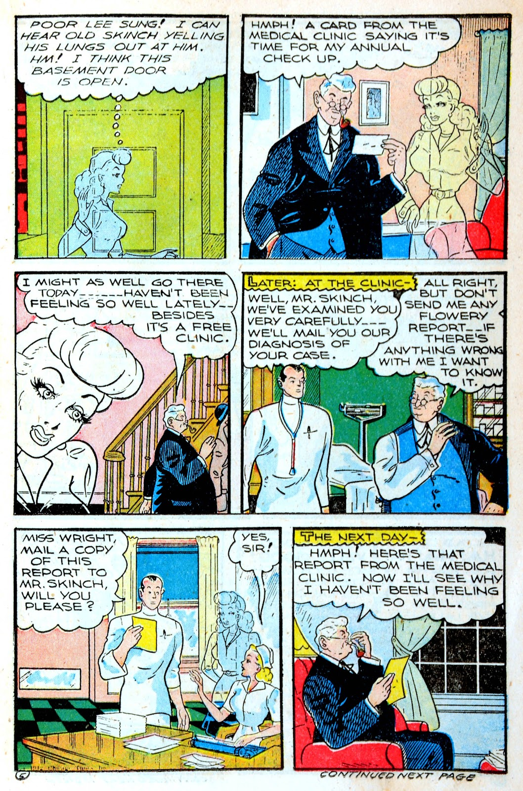 Read online Famous Funnies comic -  Issue #123 - 17