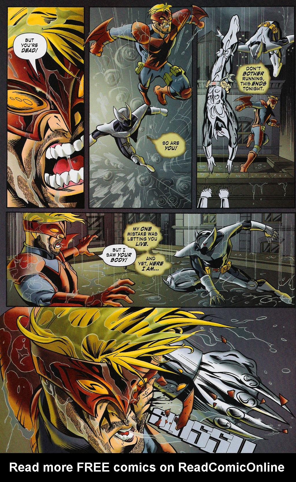 Read online ShadowHawk (2005) comic -  Issue #4 - 17