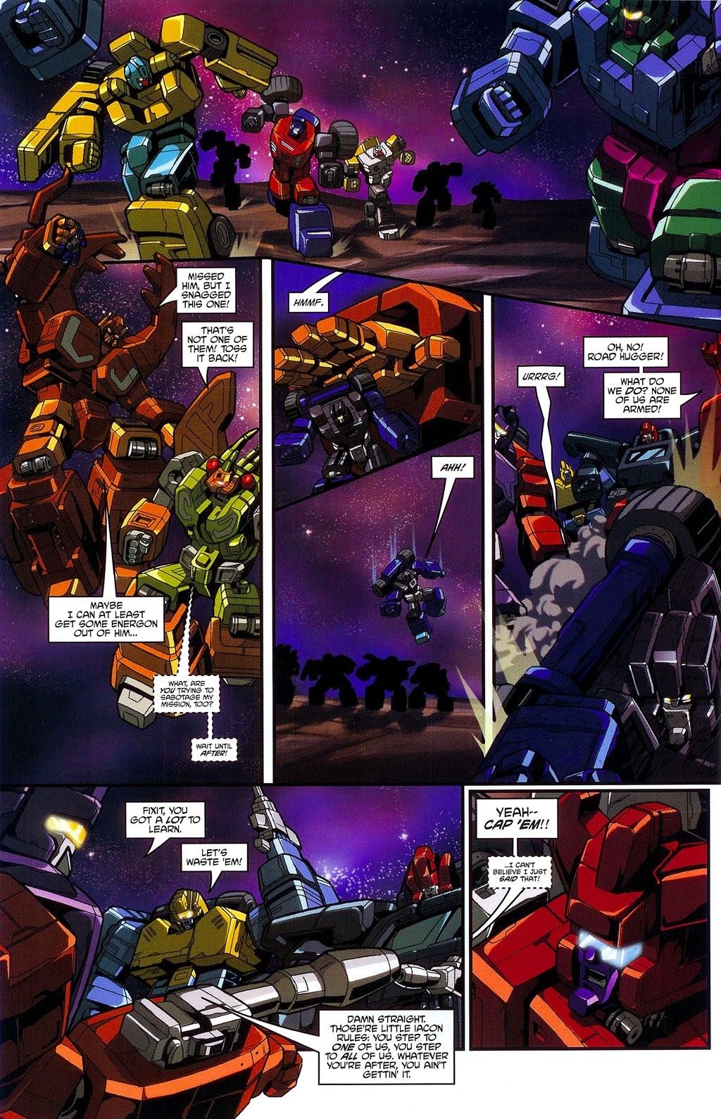 Read online Transformers: Micromasters comic -  Issue #3 - 6