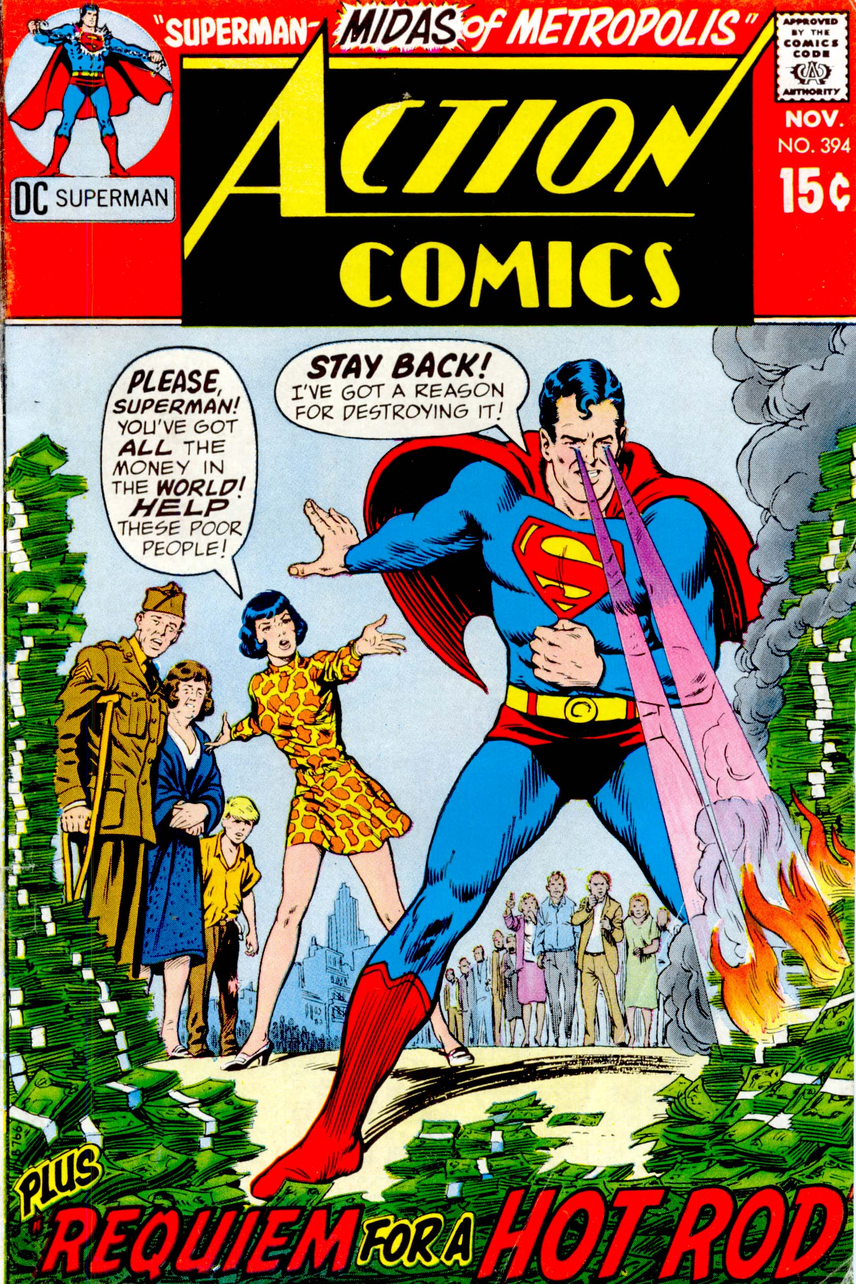 Read online Action Comics (1938) comic -  Issue #394 - 1