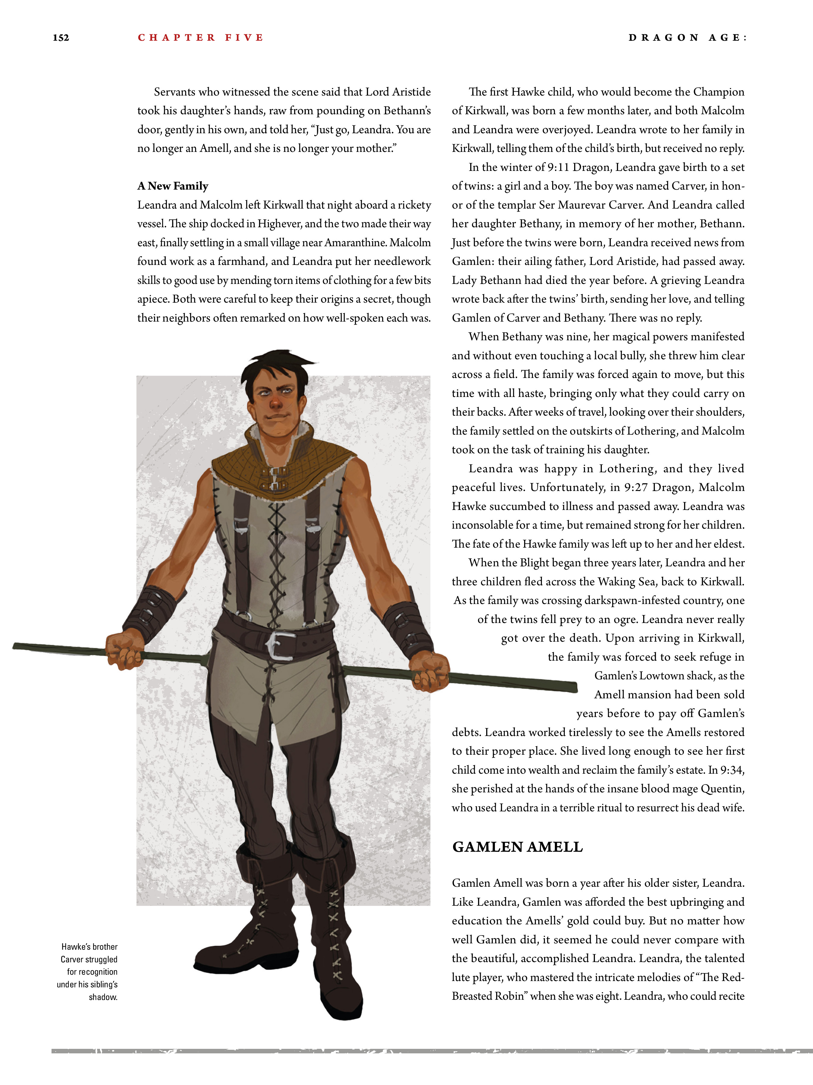 Read online Dragon Age: The World of Thedas comic -  Issue # TPB 2 - 148