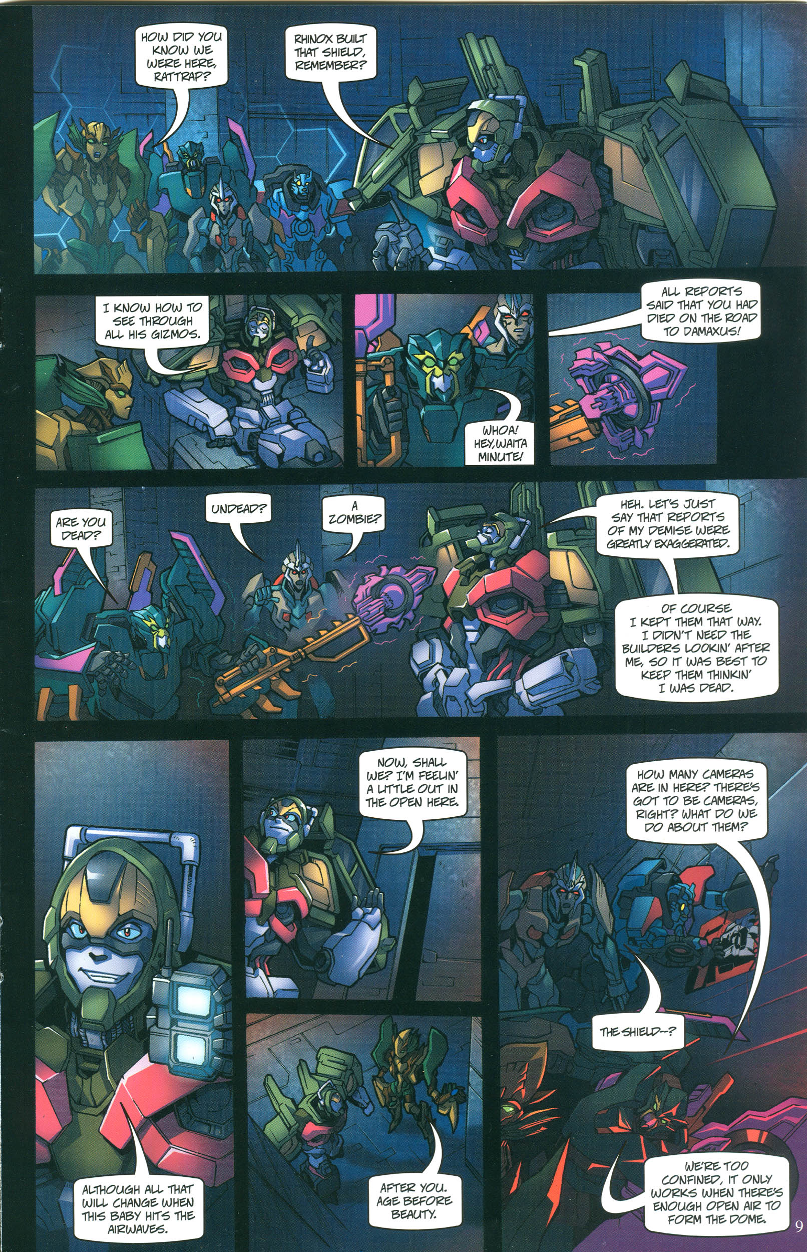 Read online Transformers: Collectors' Club comic -  Issue #55 - 9