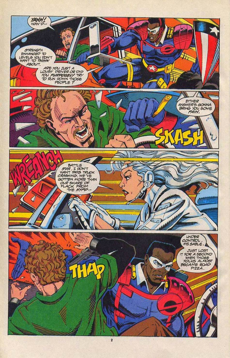 Read online Silver Sable and the Wild Pack comic -  Issue #27 - 3