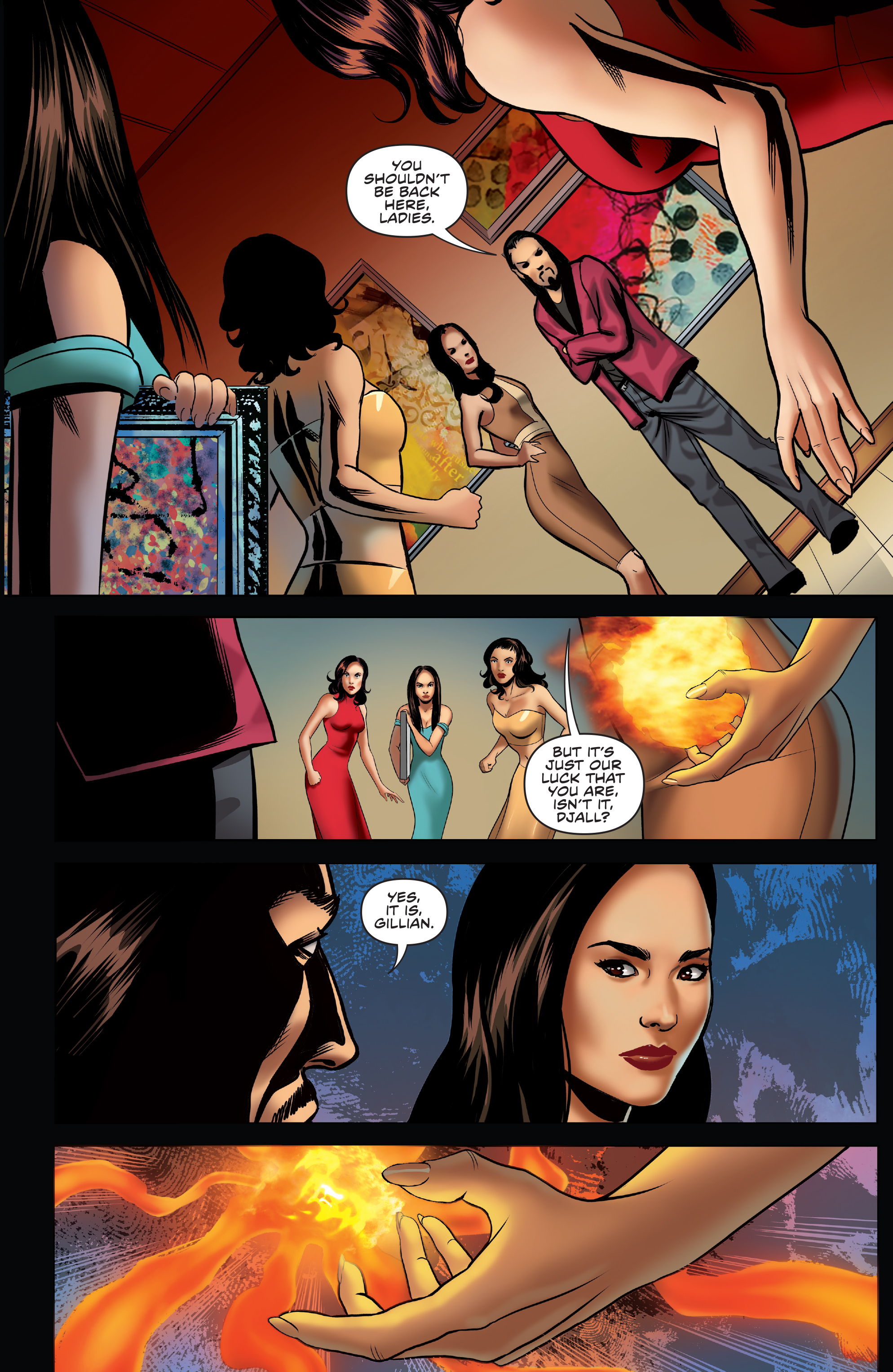 Read online Charmed (2017) comic -  Issue #3 - 5