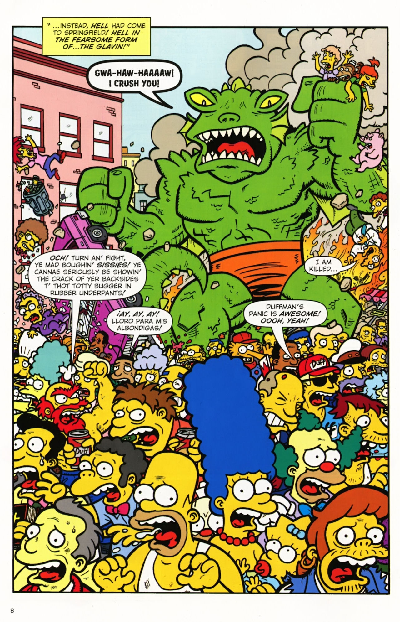 Read online Treehouse of Horror comic -  Issue #16 - 11