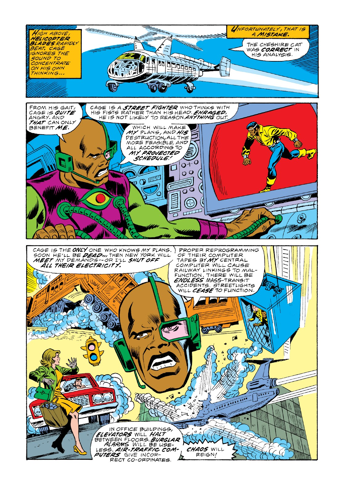 Read online Marvel Masterworks: Luke Cage, Power Man comic -  Issue # TPB 3 (Part 2) - 78