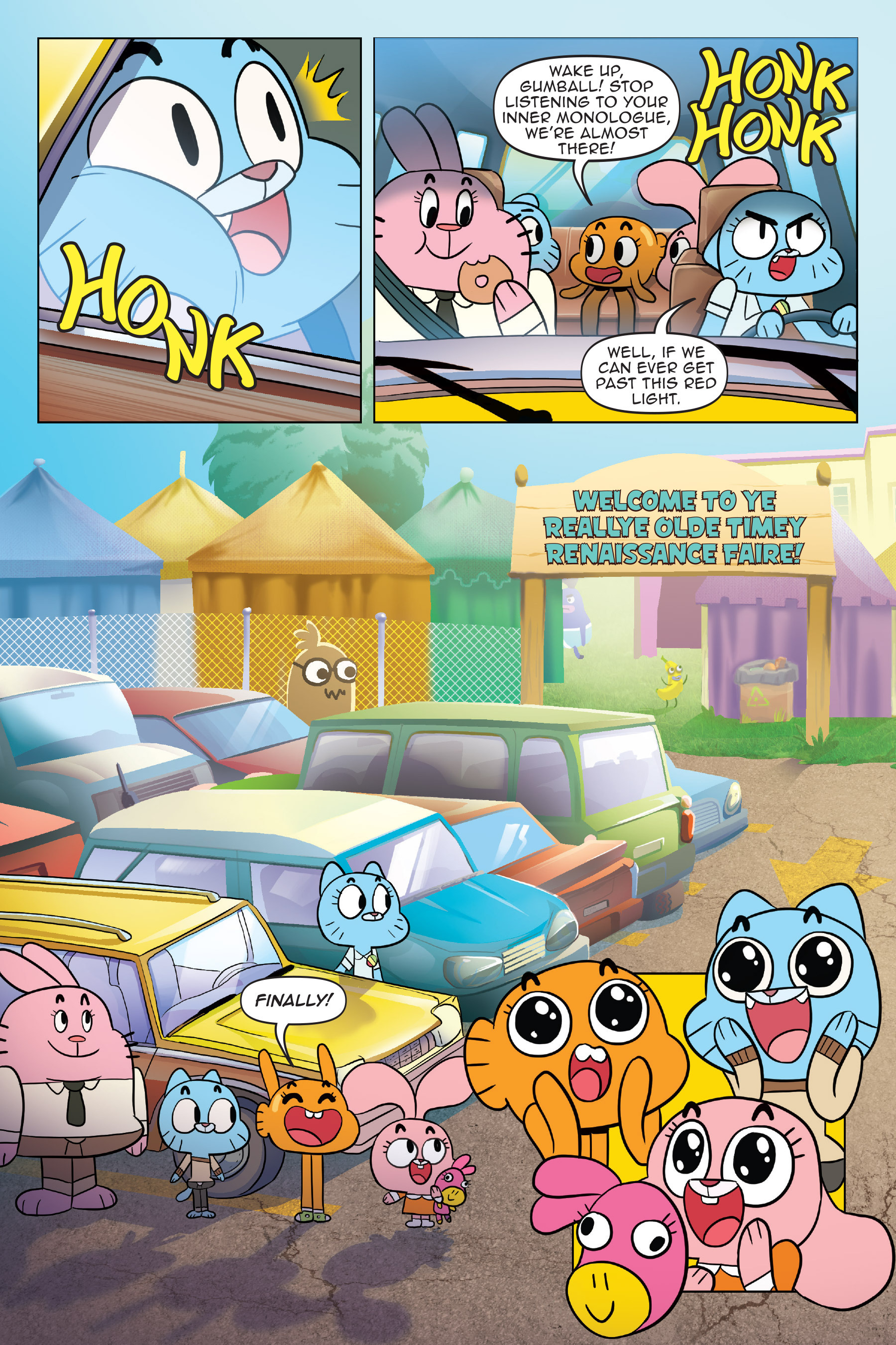 Read online The Amazing World of Gumball: Fairy Tale Trouble comic -  Issue # Full - 7