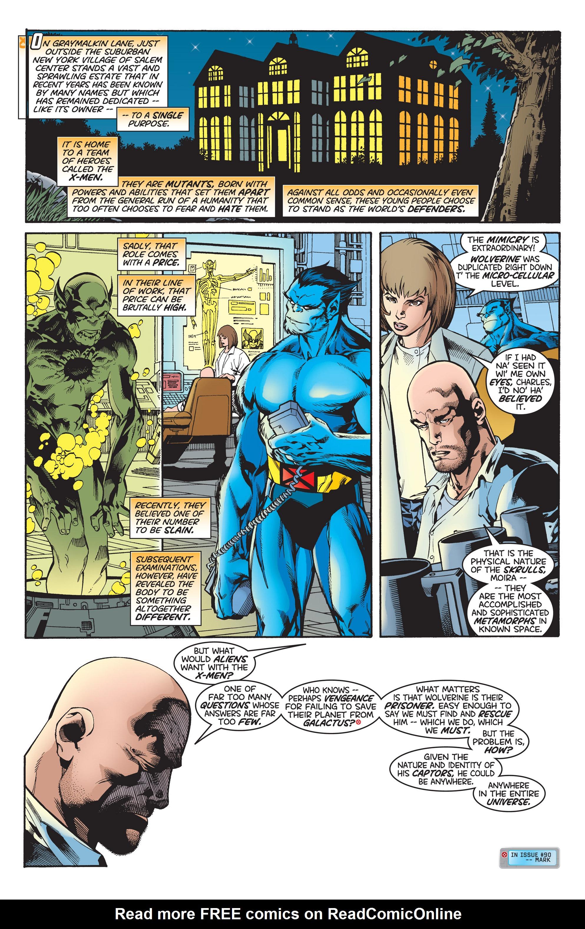 X-Men (1991) 95 Page 1