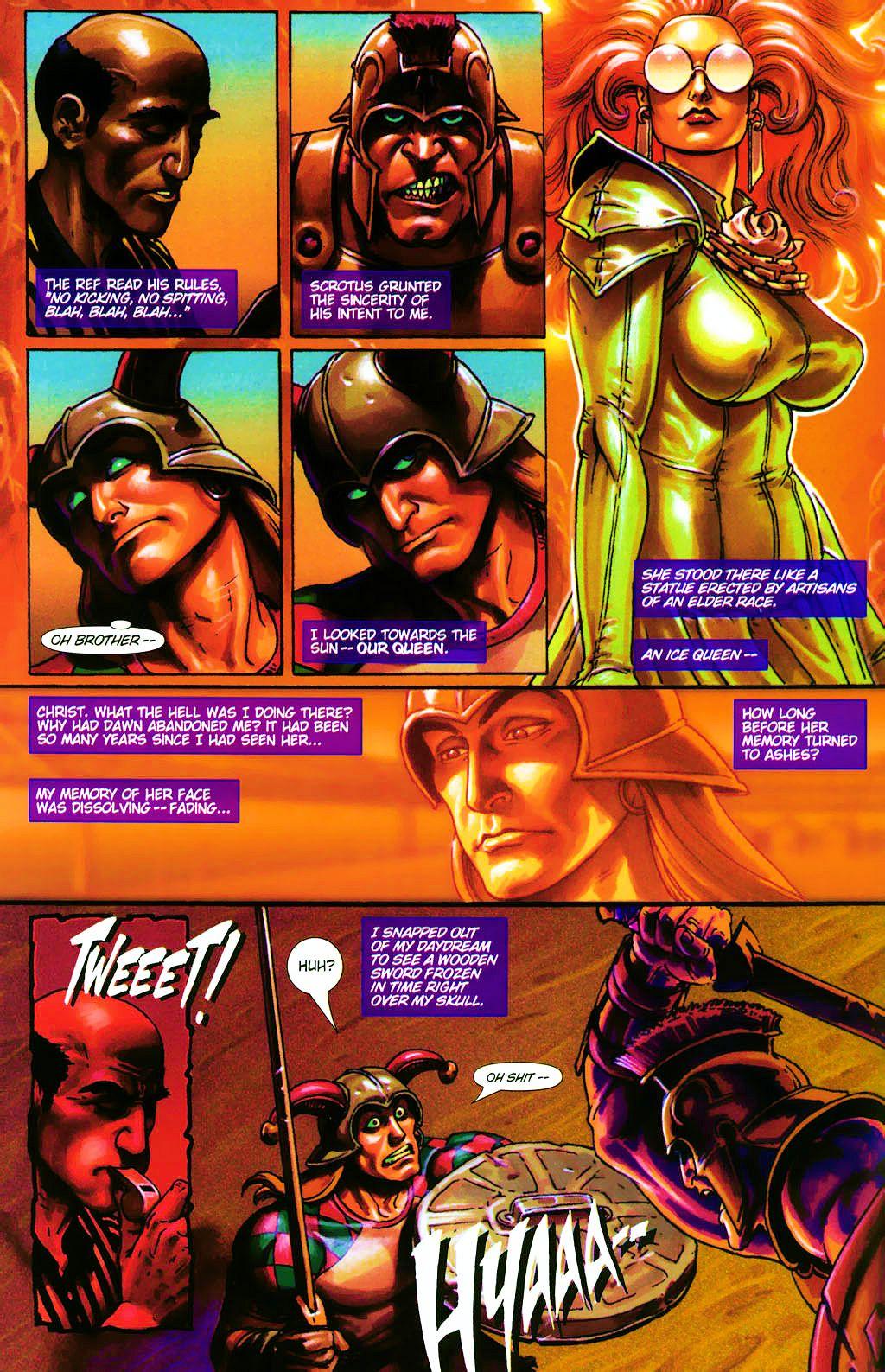 Read online Dawn: Three Tiers comic -  Issue #4 - 12