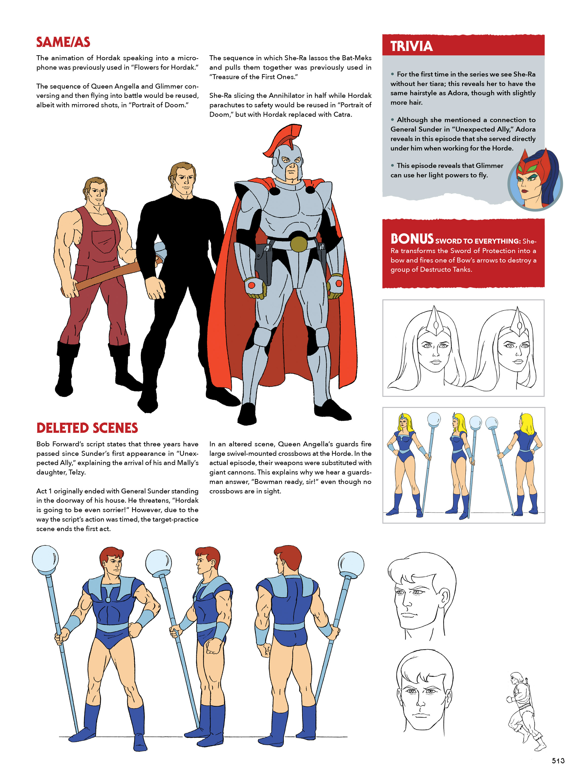 Read online He-Man and She-Ra: A Complete Guide to the Classic Animated Adventures comic -  Issue # TPB (Part 3) - 113