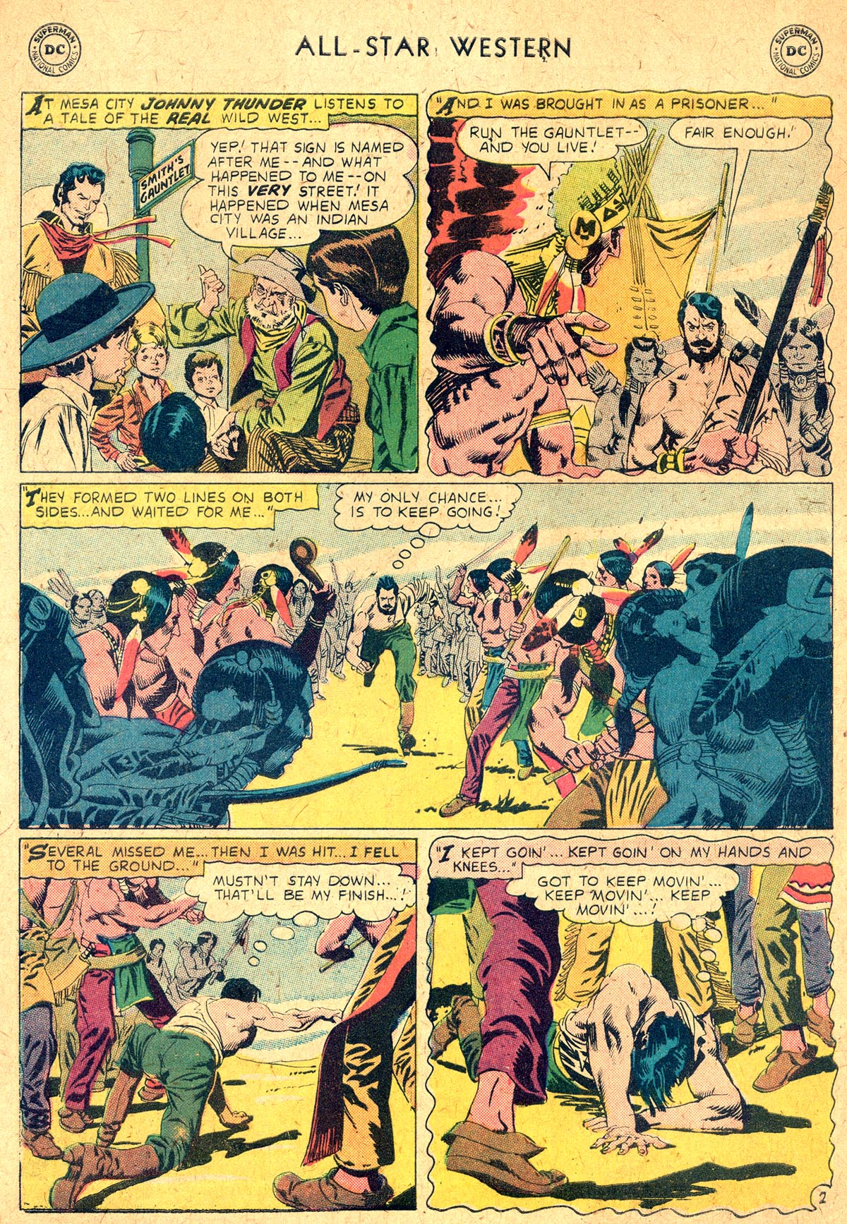 Read online All-Star Western (1951) comic -  Issue #104 - 26