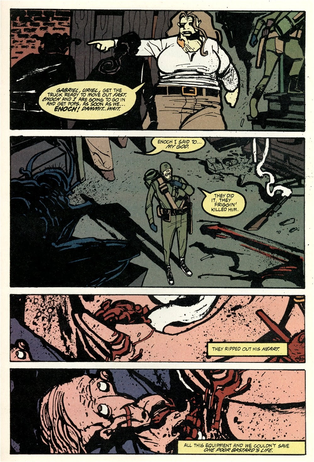 Read online Ted McKeever's Metropol comic -  Issue #11 - 15
