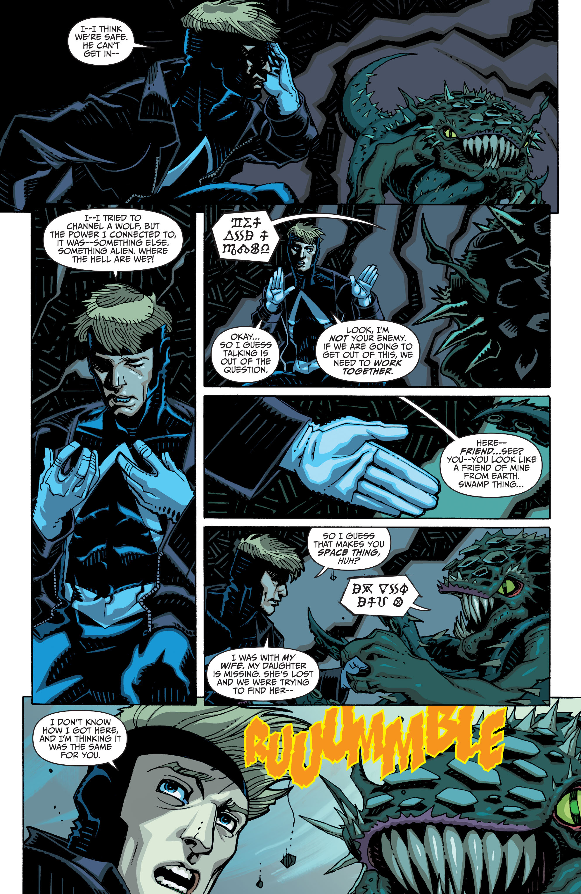 Read online Animal Man (2011) comic -  Issue #26 - 7