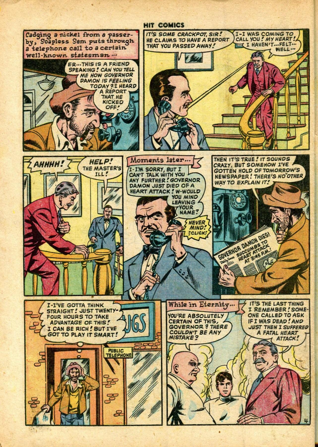 Read online Hit Comics comic -  Issue #59 - 6