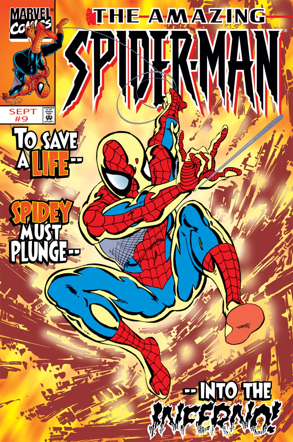 The Amazing Spider-Man (1999) 9 Page 0