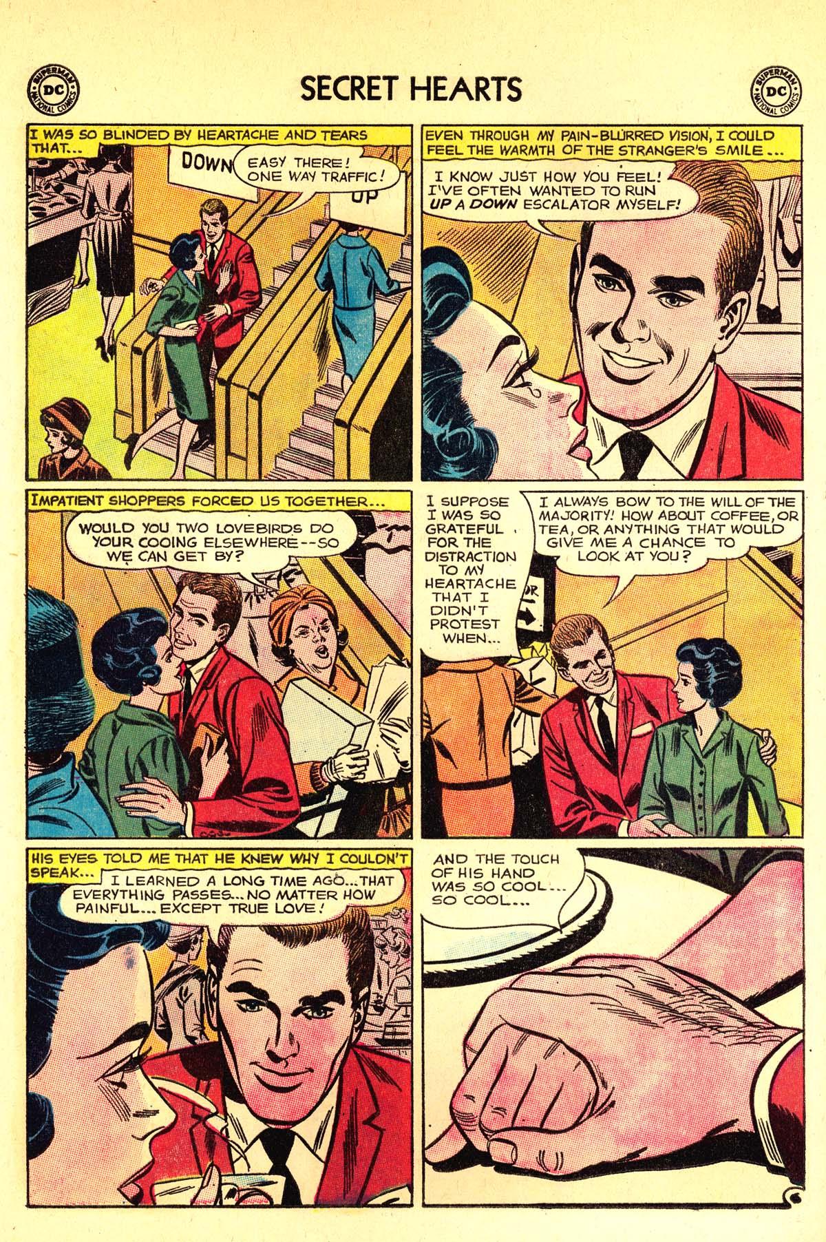 Read online Secret Hearts comic -  Issue #89 - 32