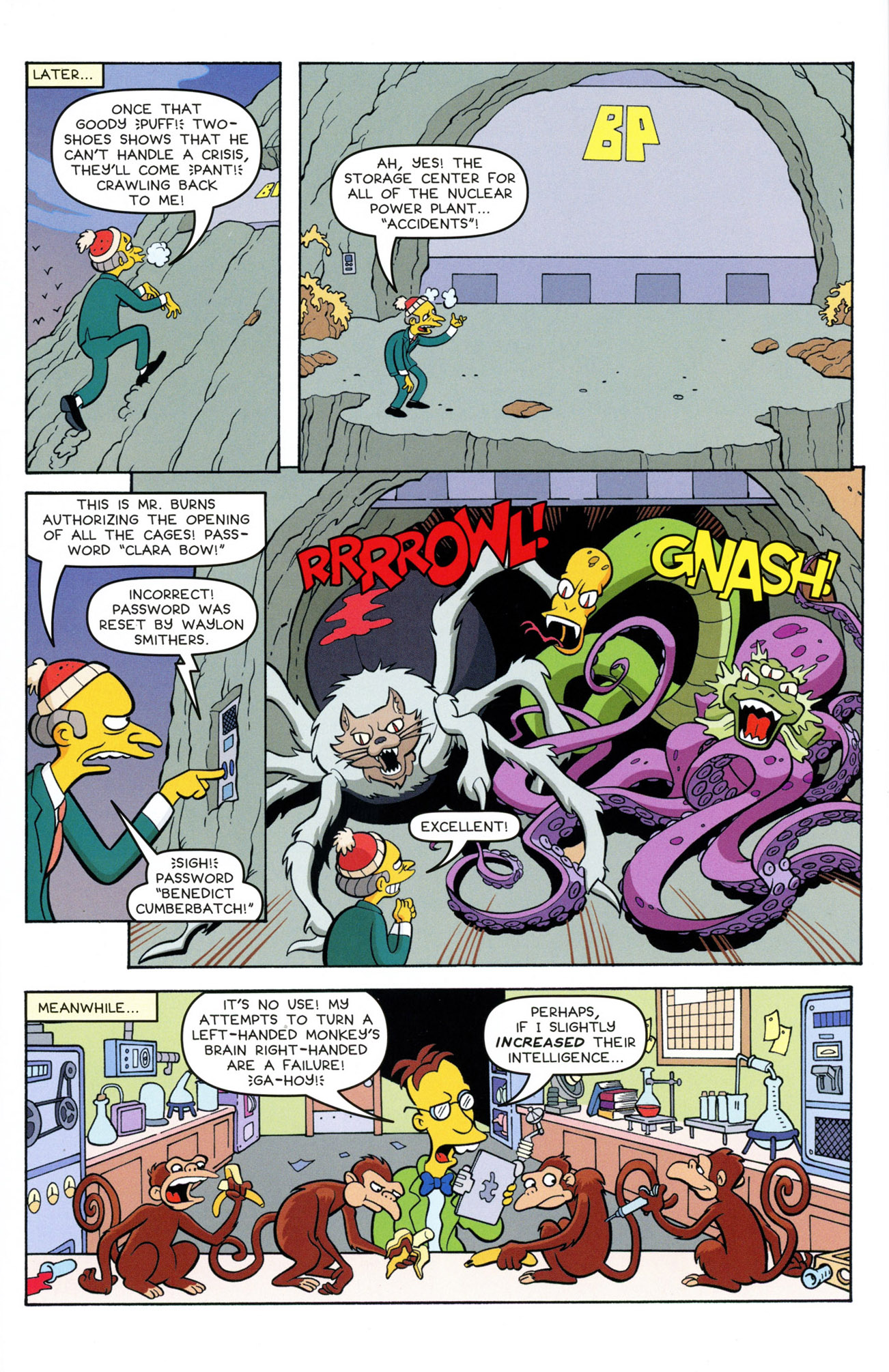 Read online Treehouse of Horror comic -  Issue #21 - 22